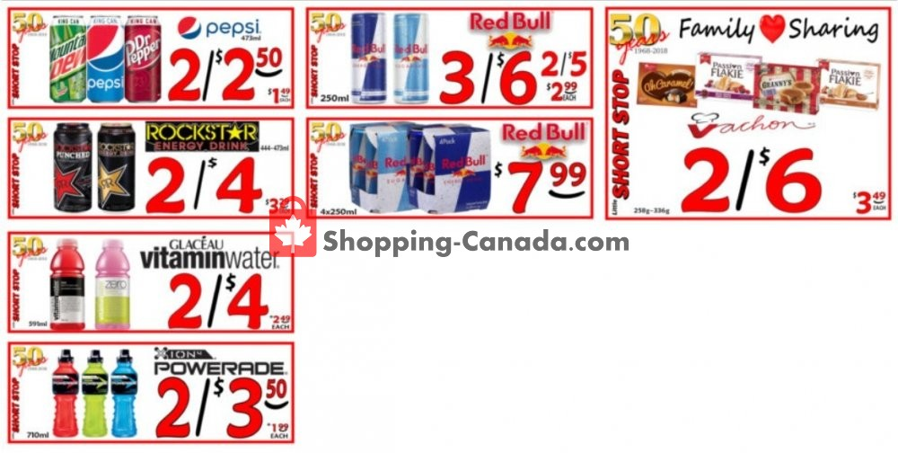 Flyer Little Short Stop Stores Canada - from Tuesday February 4, 2020 to Monday February 10, 2020
