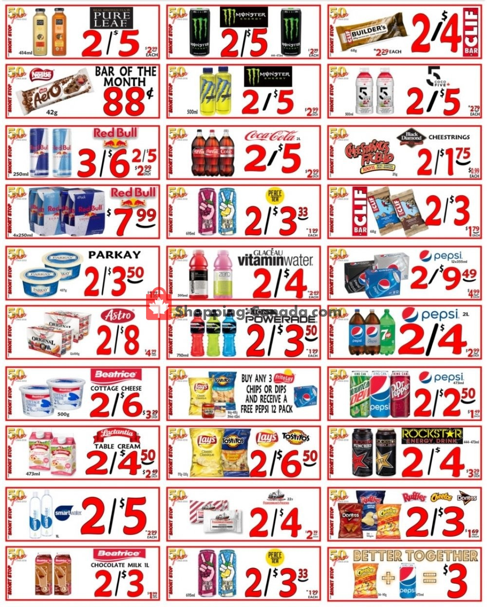 Flyer Little Short Stop Stores Canada - from Friday January 10, 2020 to Thursday January 16, 2020