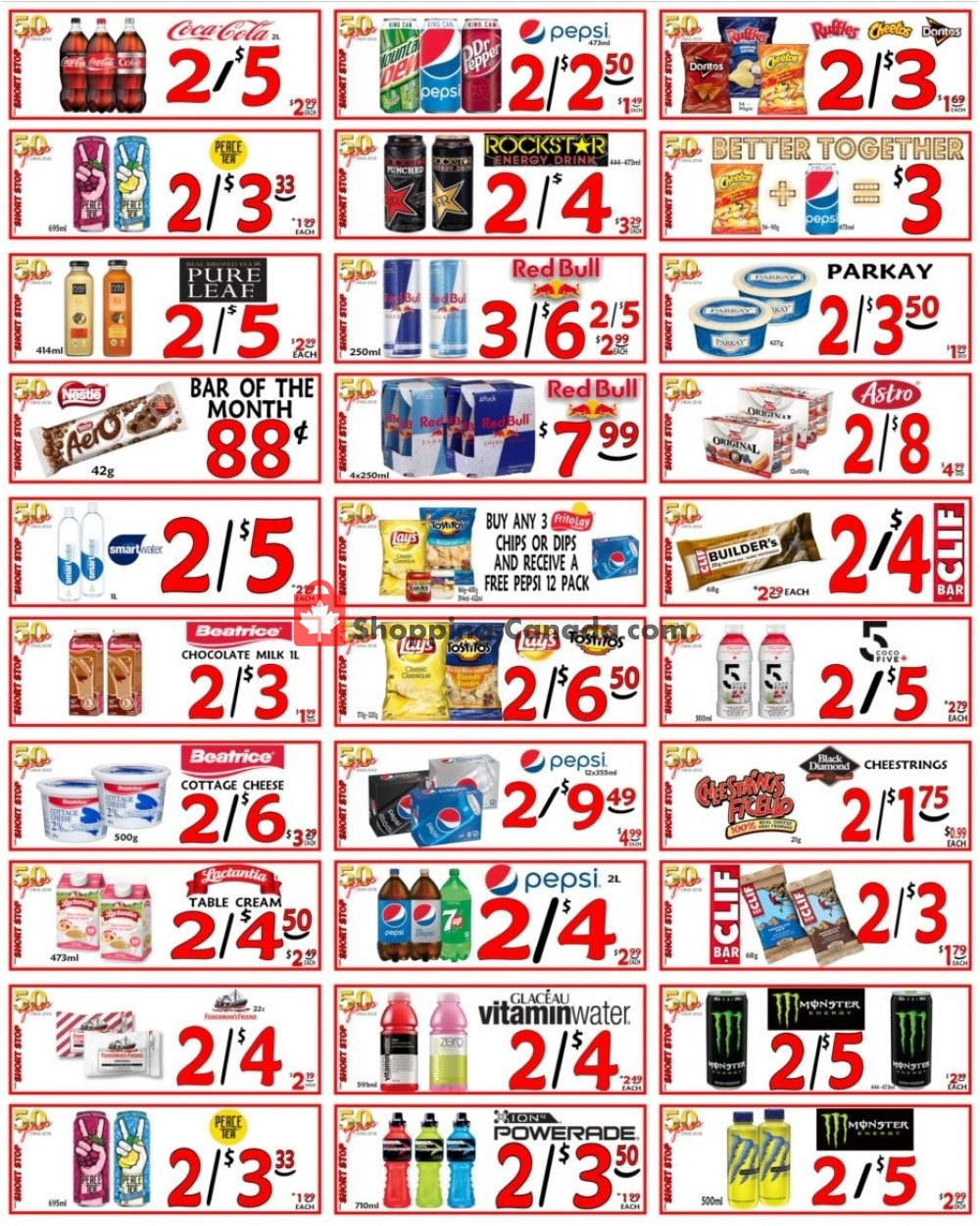 Flyer Little Short Stop Stores Canada - from Saturday January 11, 2020 to Friday January 17, 2020