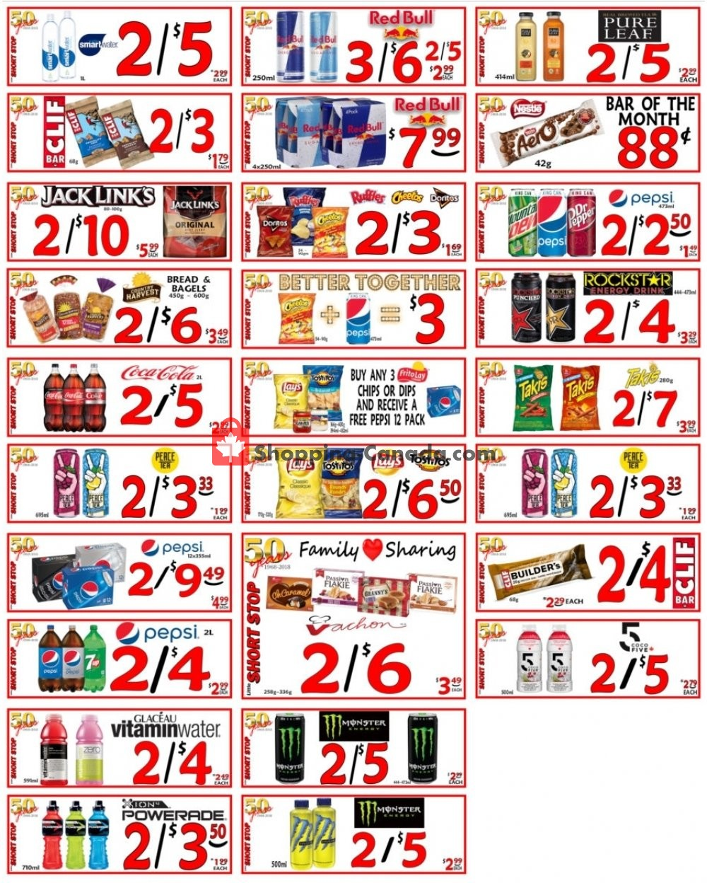 Flyer Little Short Stop Stores Canada - from Wednesday January 29, 2020 to Tuesday February 4, 2020