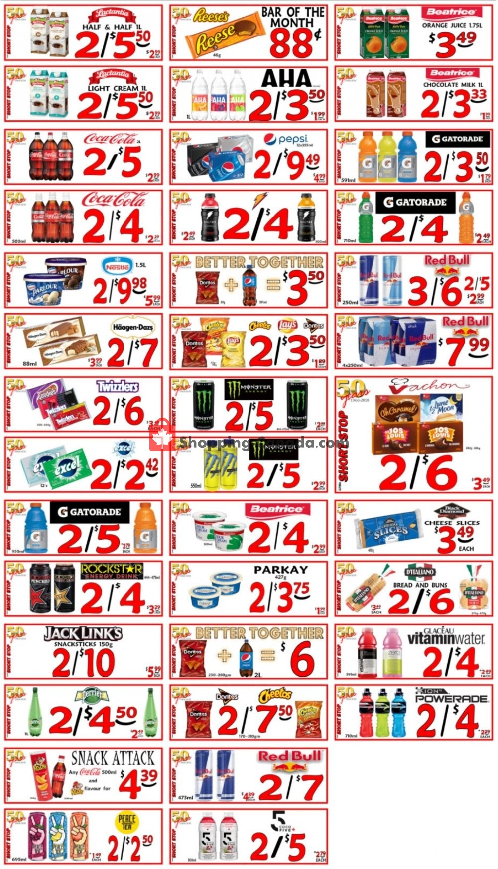 Flyer Little Short Stop Stores Canada - from Friday July 10, 2020 to Thursday July 16, 2020