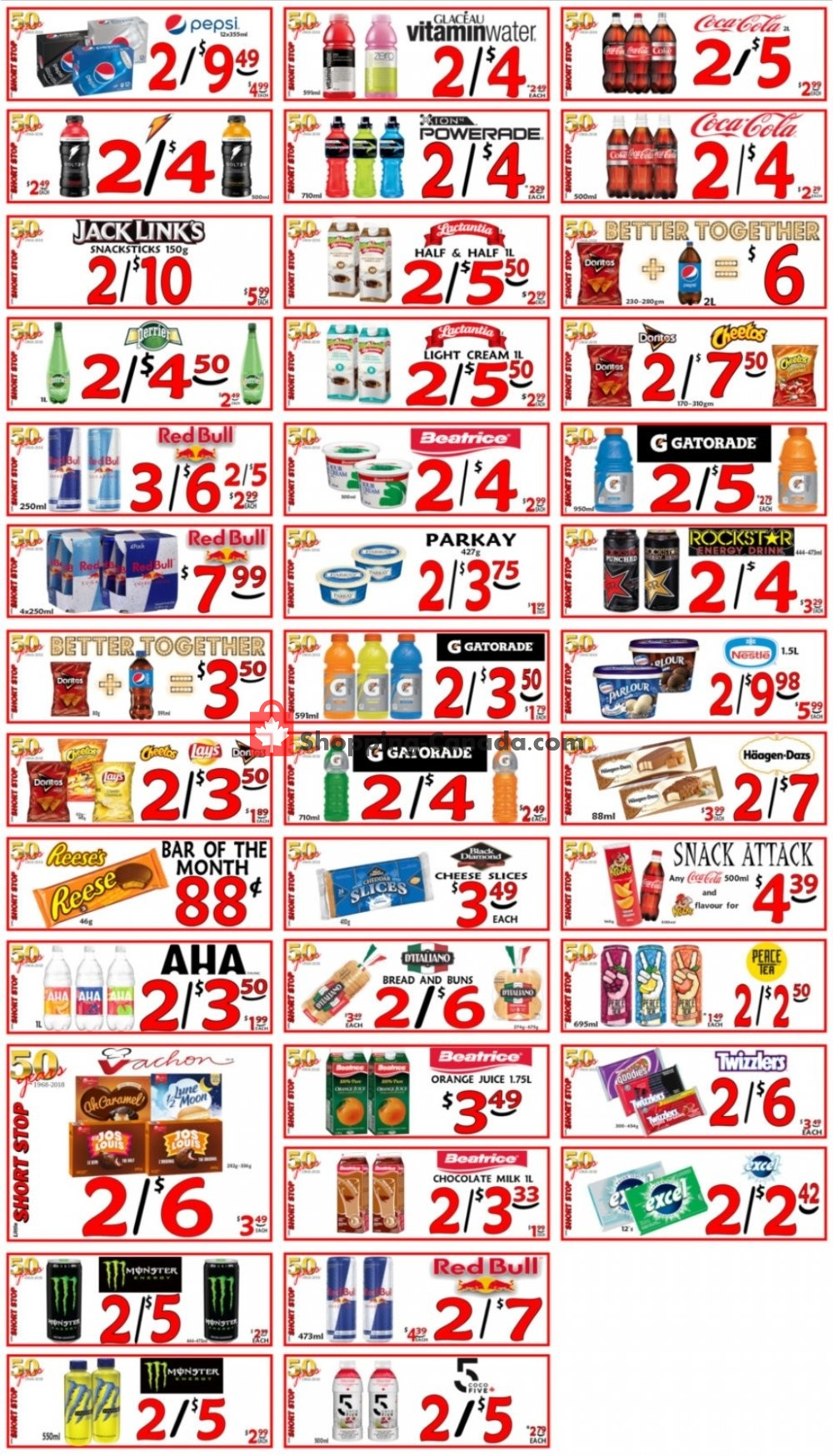 Flyer Little Short Stop Stores Canada - from Saturday July 11, 2020 to Friday July 17, 2020