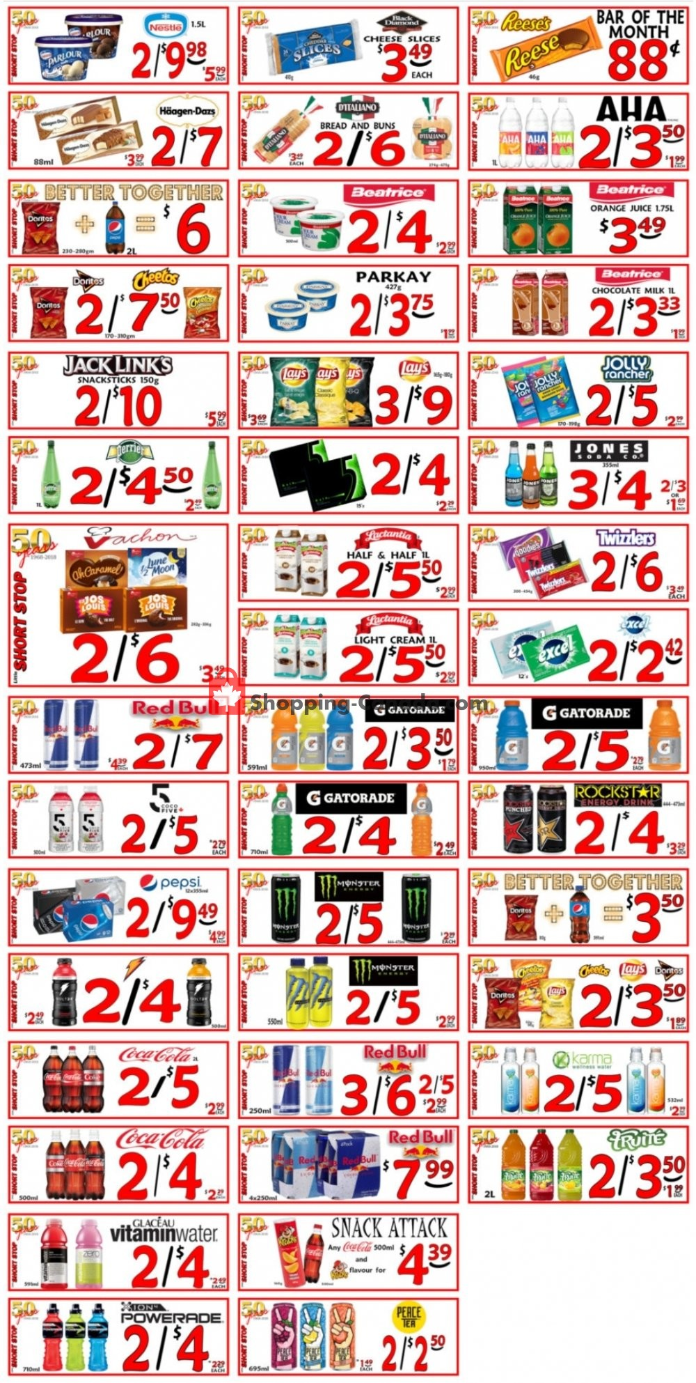 Flyer Little Short Stop Stores Canada - from Monday July 13, 2020 to Sunday July 19, 2020