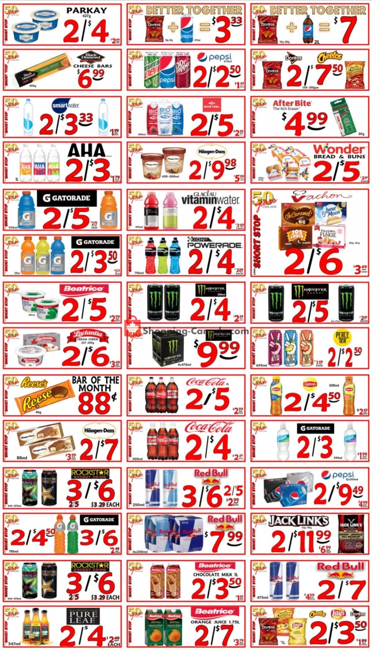Flyer Little Short Stop Stores Canada - from Thursday July 15, 2021 to Wednesday July 21, 2021