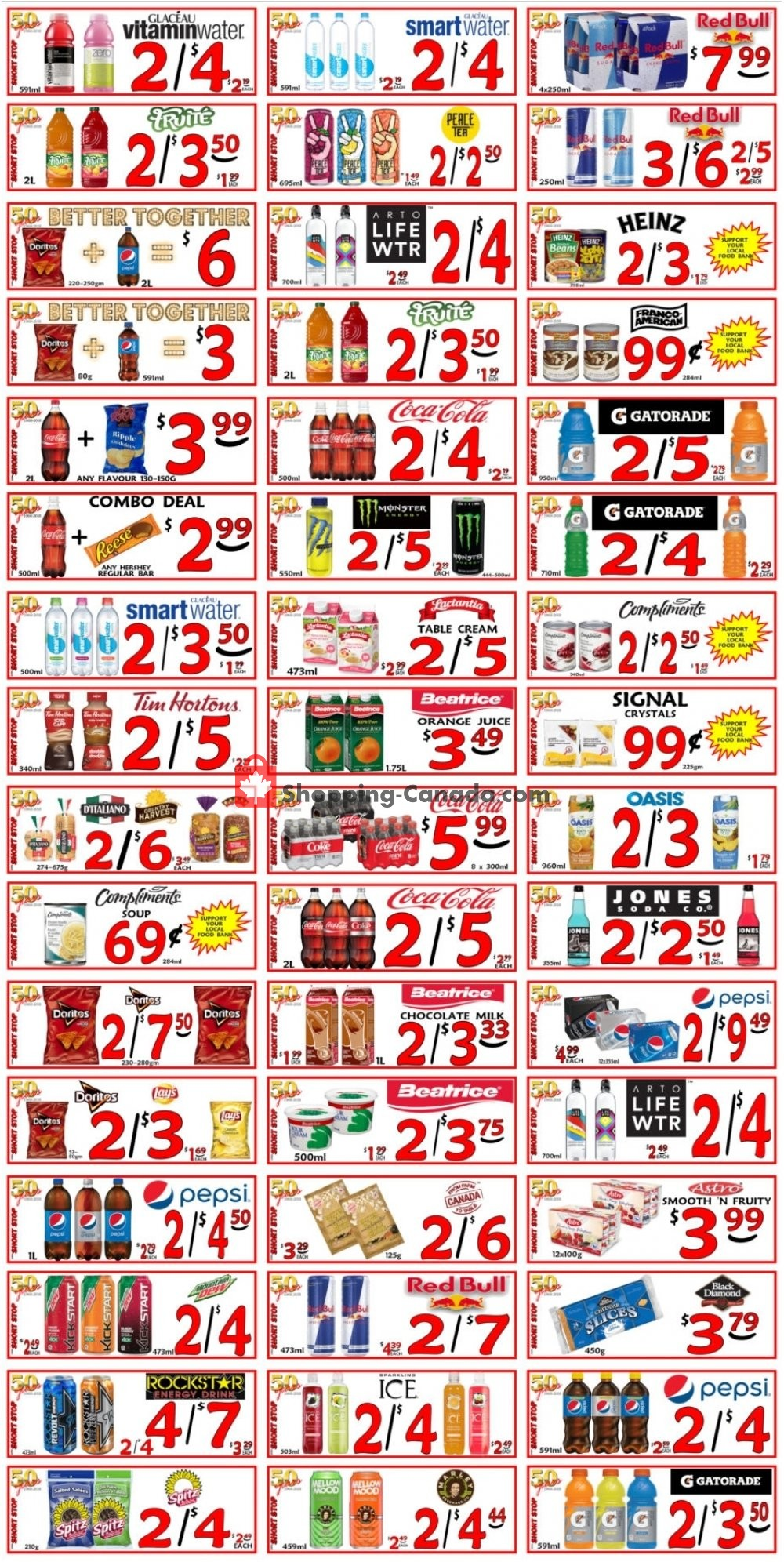 Flyer Little Short Stop Stores Canada - from Saturday July 20, 2019 to Friday July 26, 2019