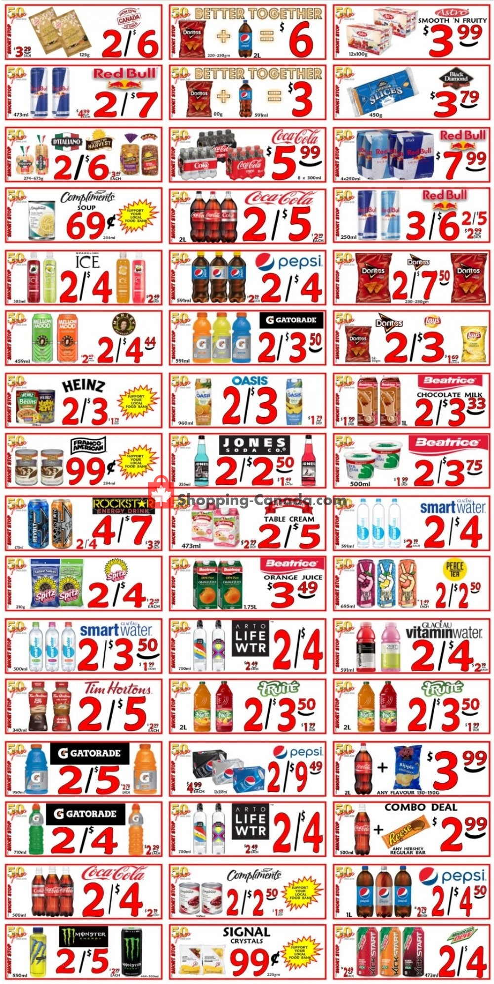 Flyer Little Short Stop Stores Canada - from Sunday July 21, 2019 to Saturday July 27, 2019