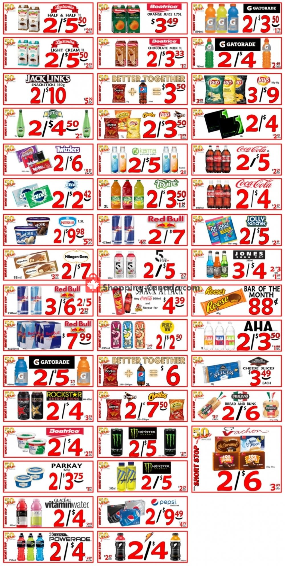 Flyer Little Short Stop Stores Canada - from Wednesday July 22, 2020 to Tuesday July 28, 2020