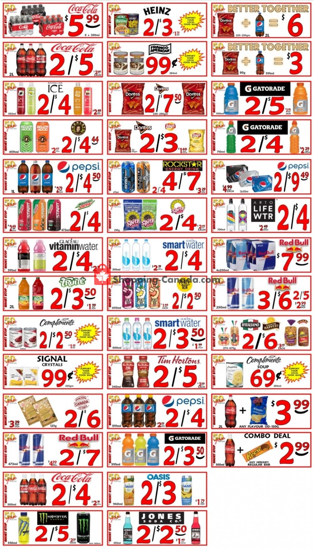 Flyer Little Short Stop Stores Canada - from Tuesday July 23, 2019 to Monday July 29, 2019