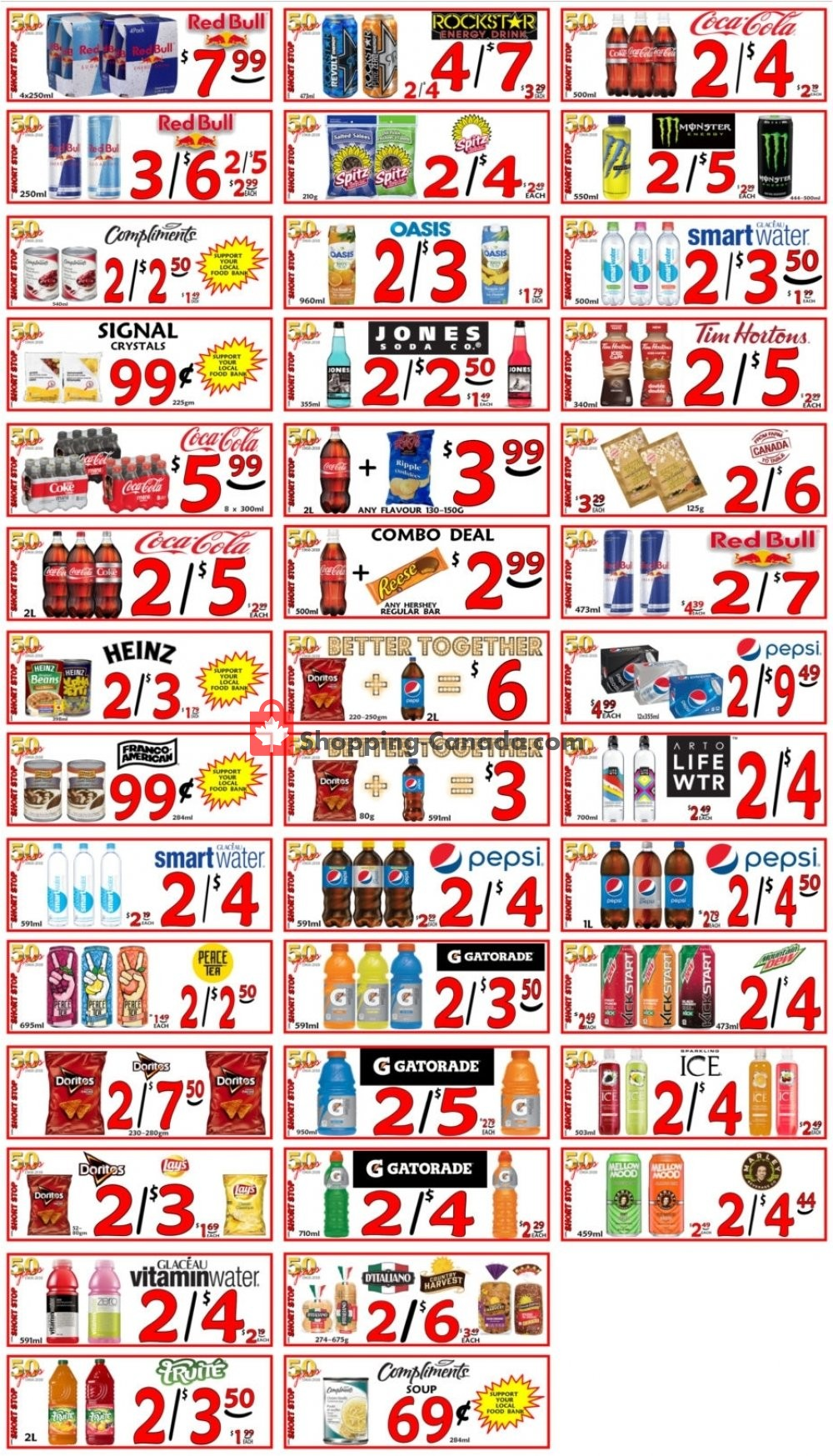 Flyer Little Short Stop Stores Canada - from Wednesday July 24, 2019 to Tuesday July 30, 2019