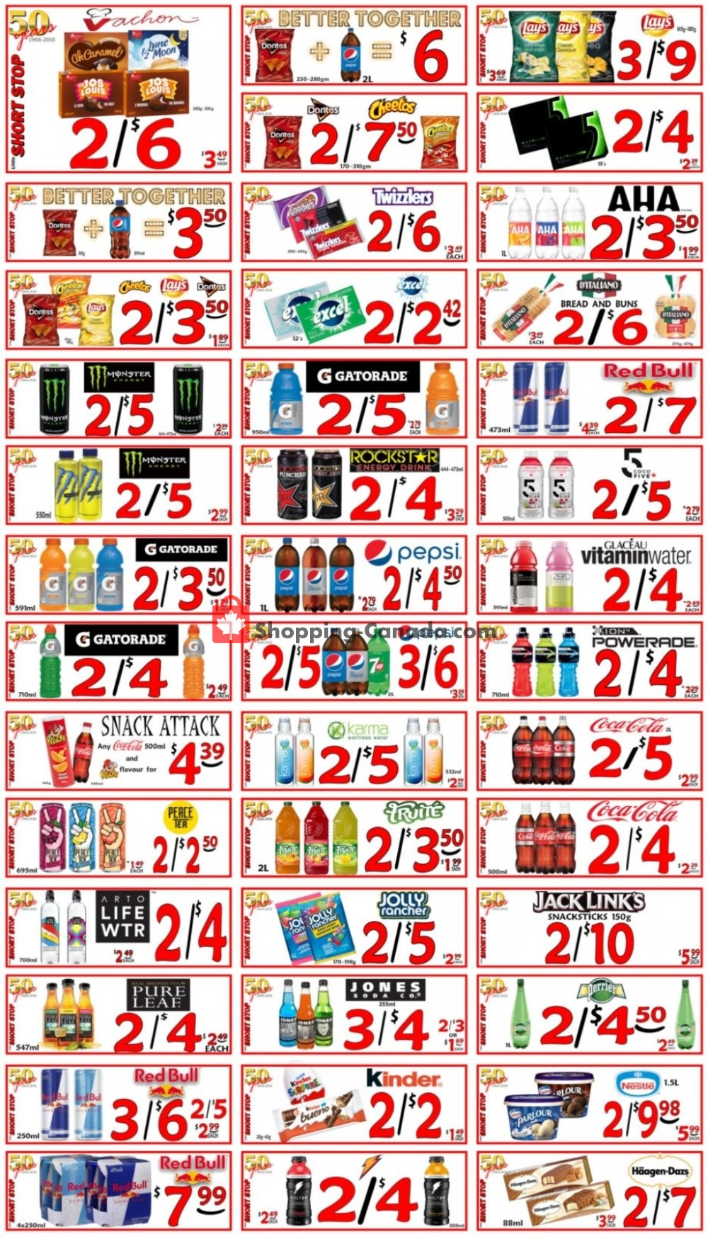 Flyer Little Short Stop Stores Canada - from Monday July 27, 2020 to Sunday August 2, 2020