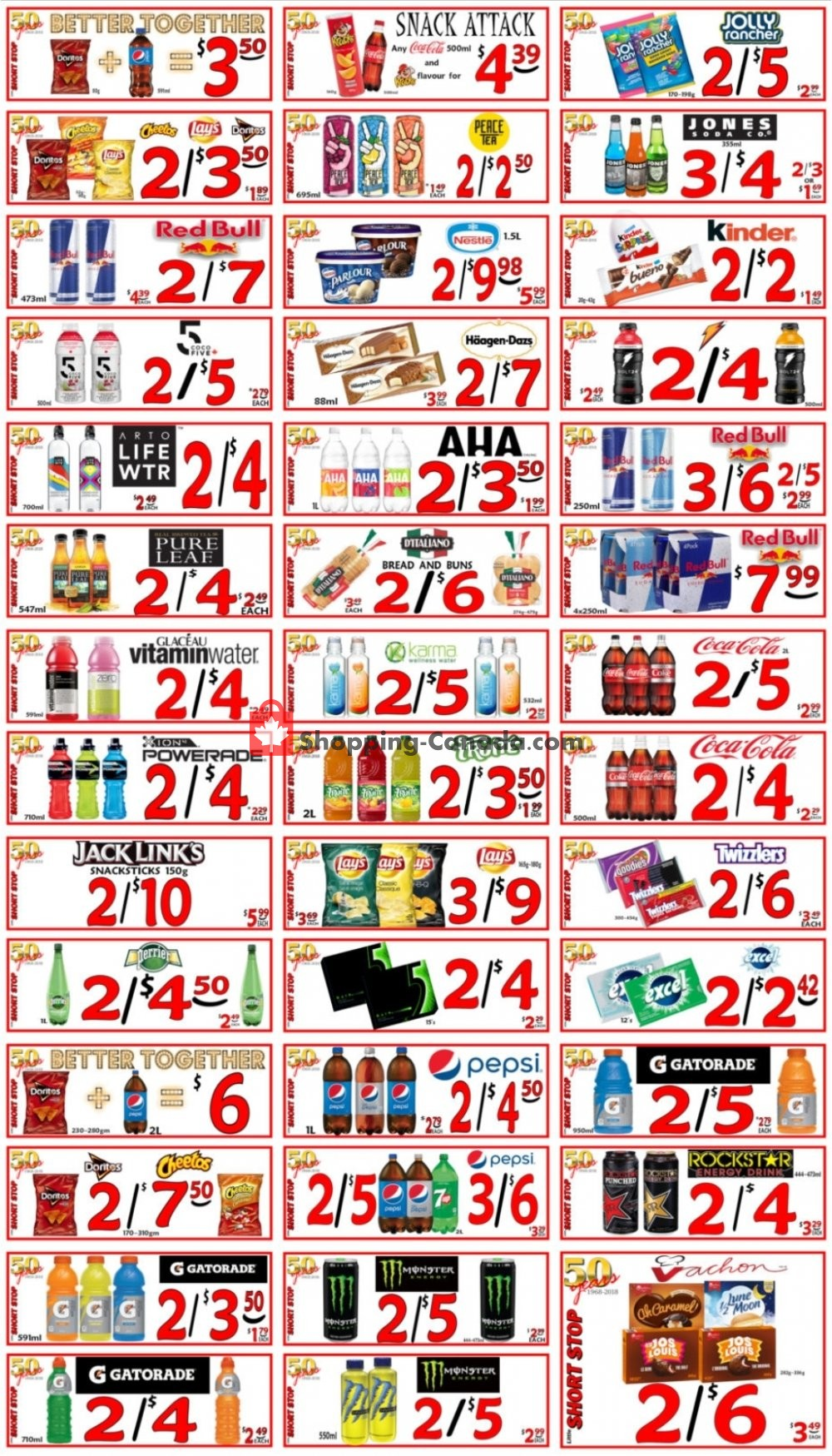 Flyer Little Short Stop Stores Canada - from Thursday July 30, 2020 to Wednesday August 5, 2020