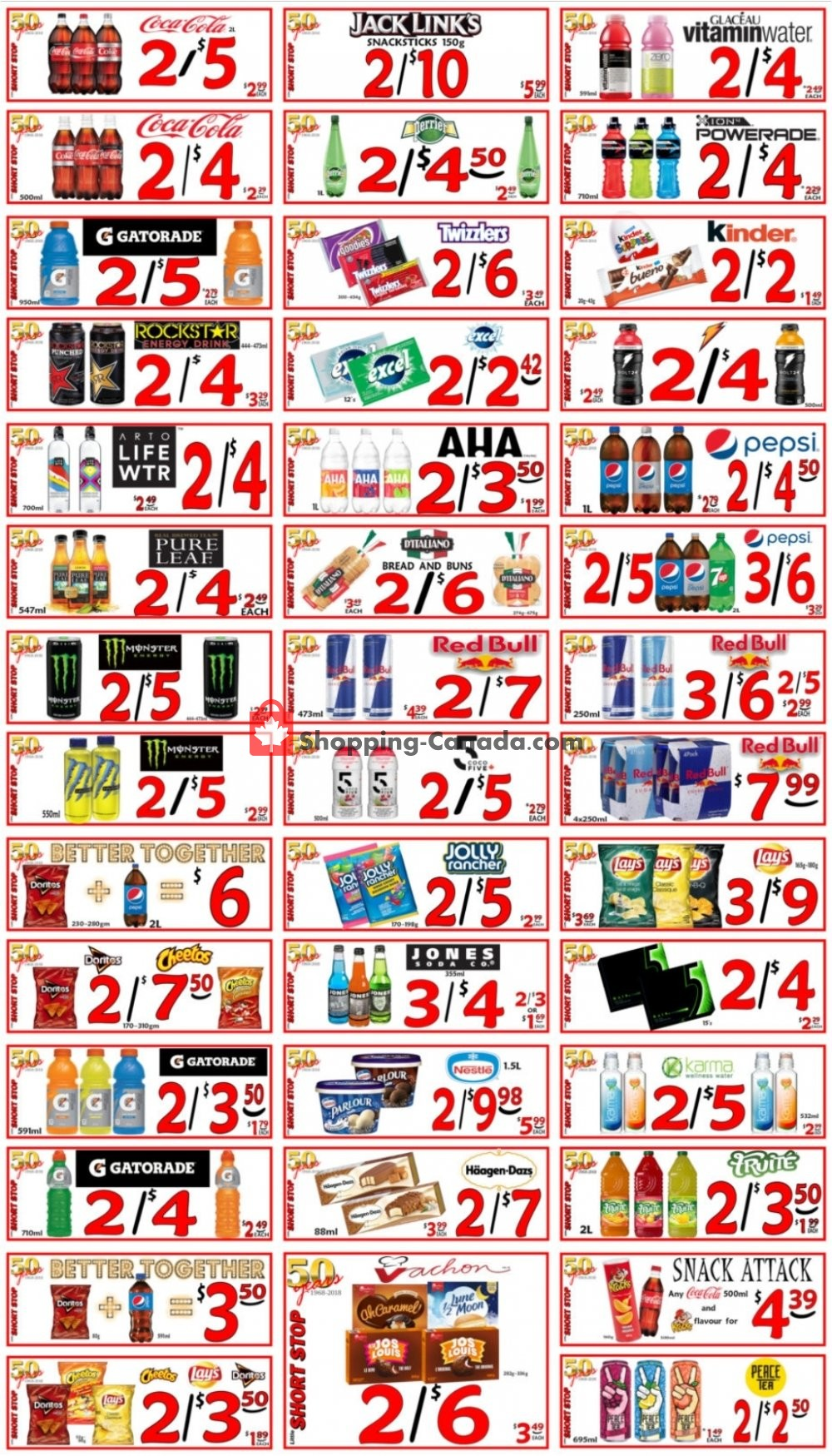 Flyer Little Short Stop Stores Canada - from Friday July 31, 2020 to Thursday August 6, 2020