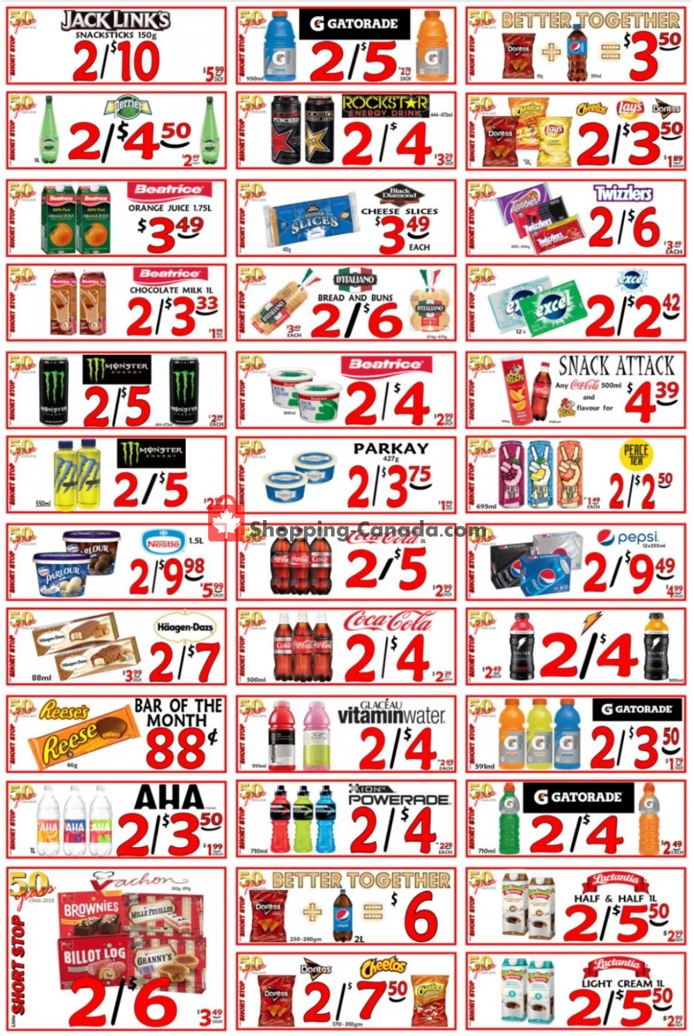 Flyer Little Short Stop Stores Canada - from Saturday July 4, 2020 to Friday July 10, 2020