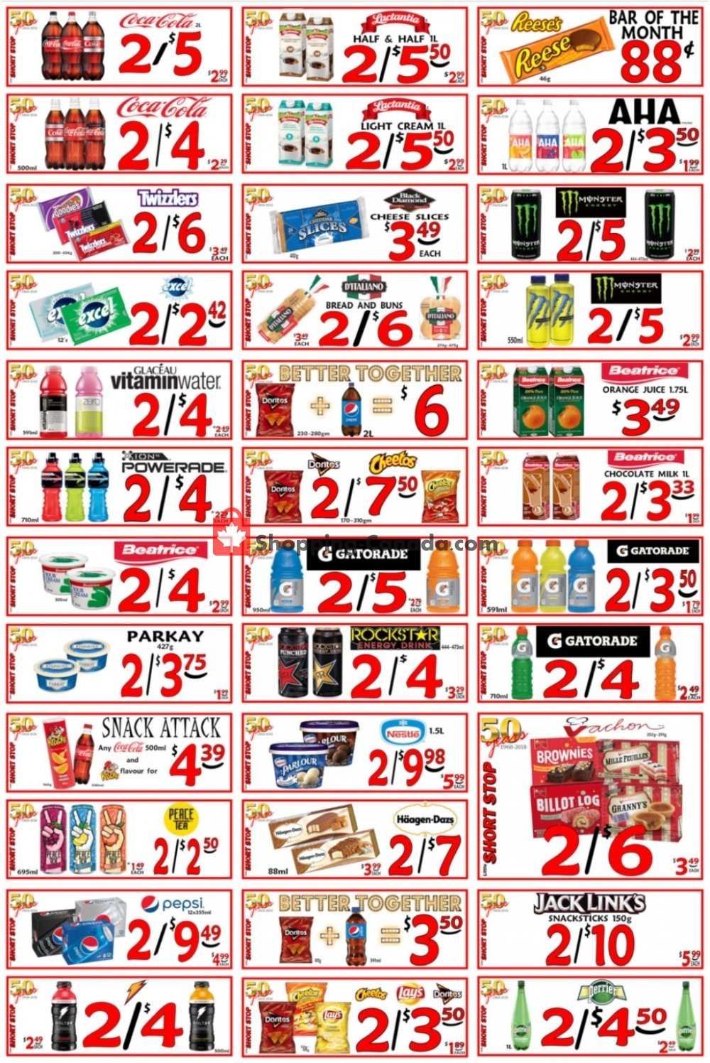 Flyer Little Short Stop Stores Canada - from Sunday July 5, 2020 to Saturday July 11, 2020