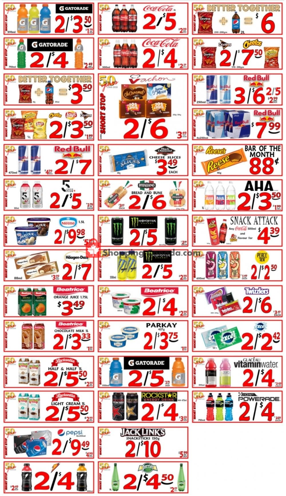 Flyer Little Short Stop Stores Canada - from Monday July 6, 2020 to Sunday July 12, 2020
