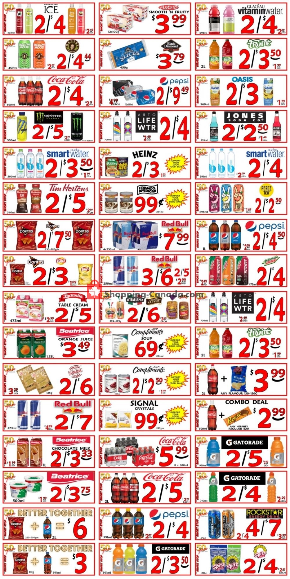 Flyer Little Short Stop Stores Canada - from Tuesday July 9, 2019 to Monday July 15, 2019