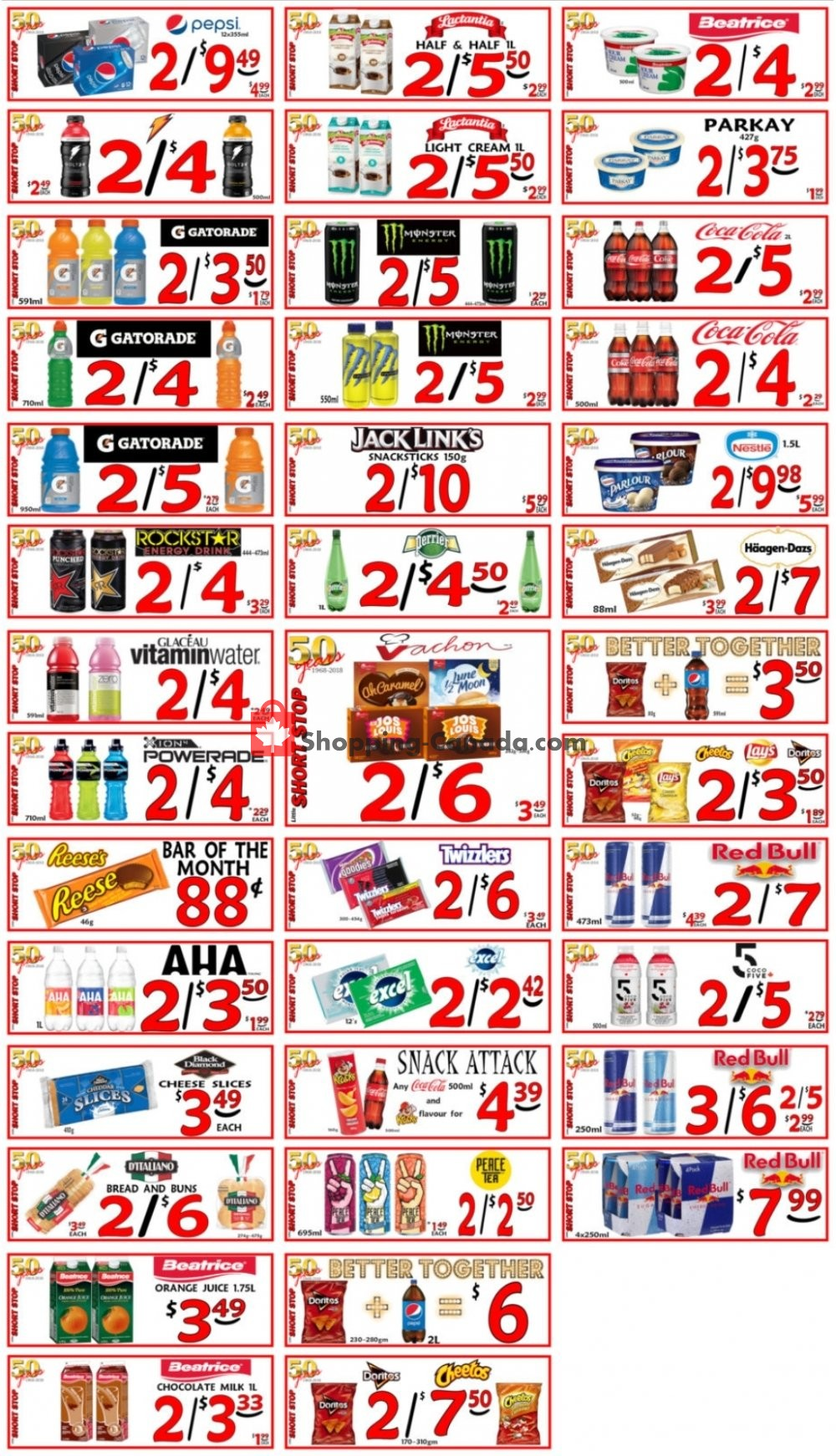 Flyer Little Short Stop Stores Canada - from Thursday July 9, 2020 to Wednesday July 15, 2020