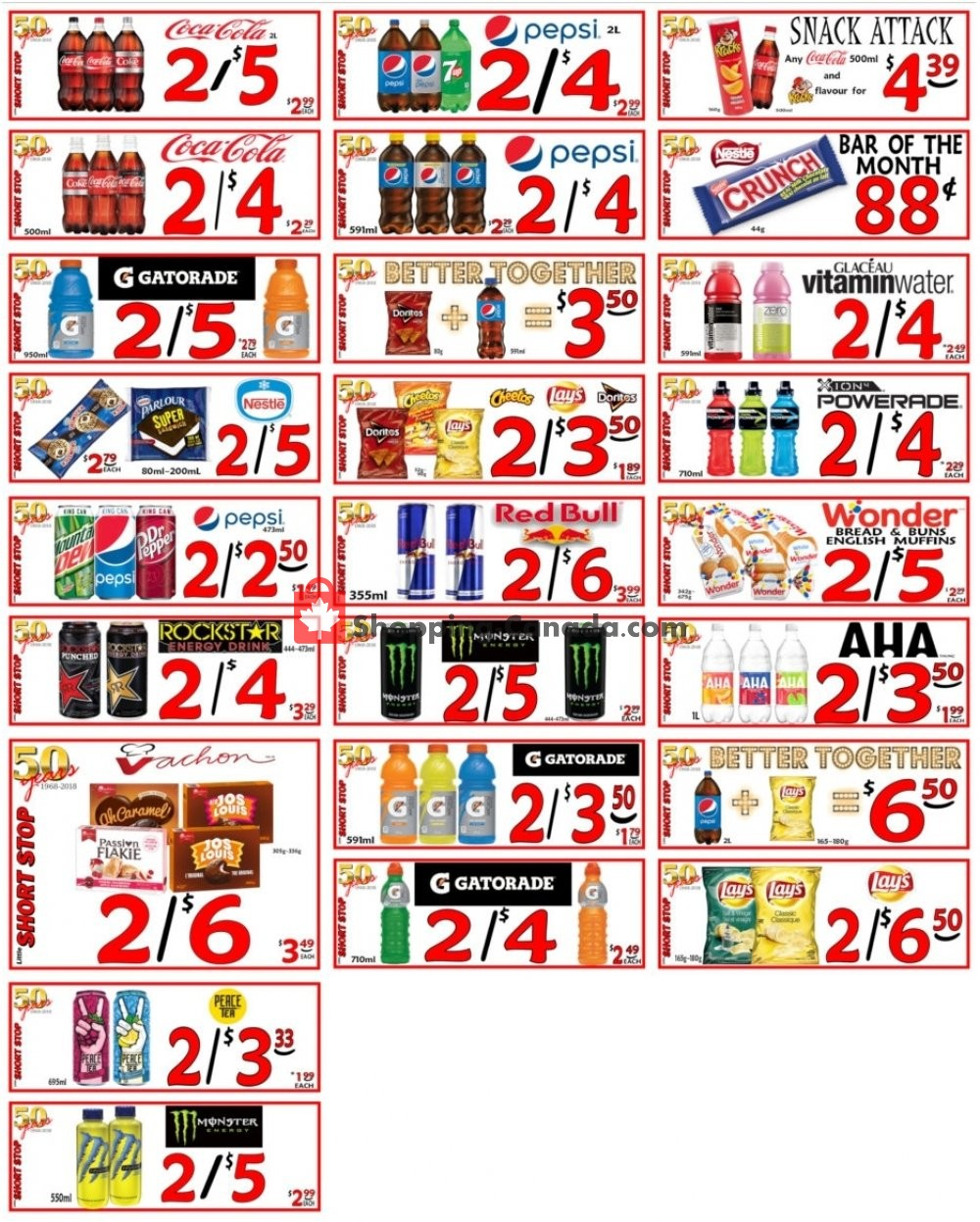 Flyer Little Short Stop Stores Canada - from Monday June 1, 2020 to Sunday June 7, 2020