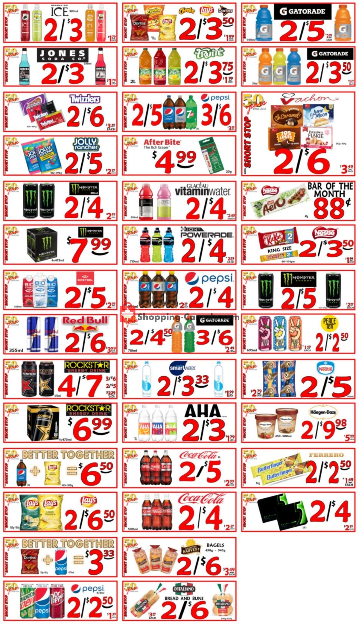 Flyer Little Short Stop Stores Canada - from Thursday June 10, 2021 to Wednesday June 16, 2021