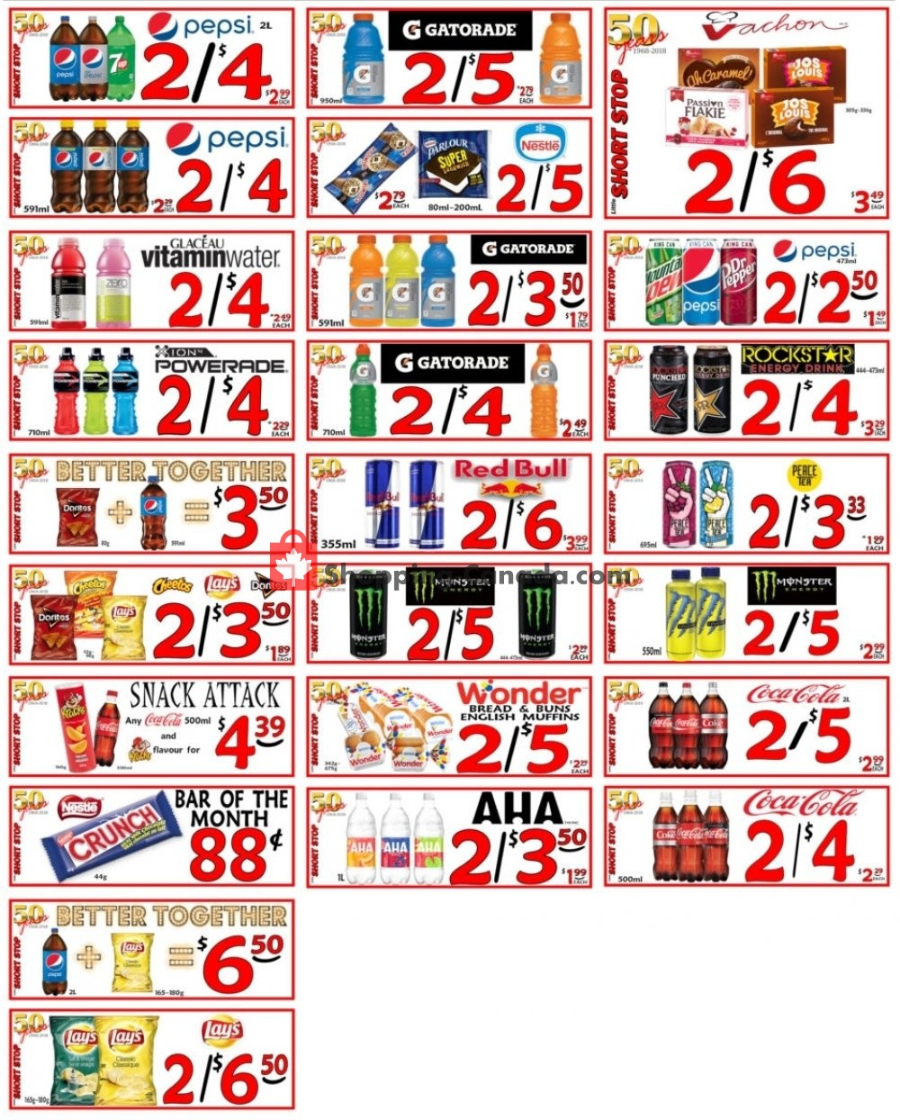 Flyer Little Short Stop Stores Canada - from Tuesday June 2, 2020 to Monday June 8, 2020