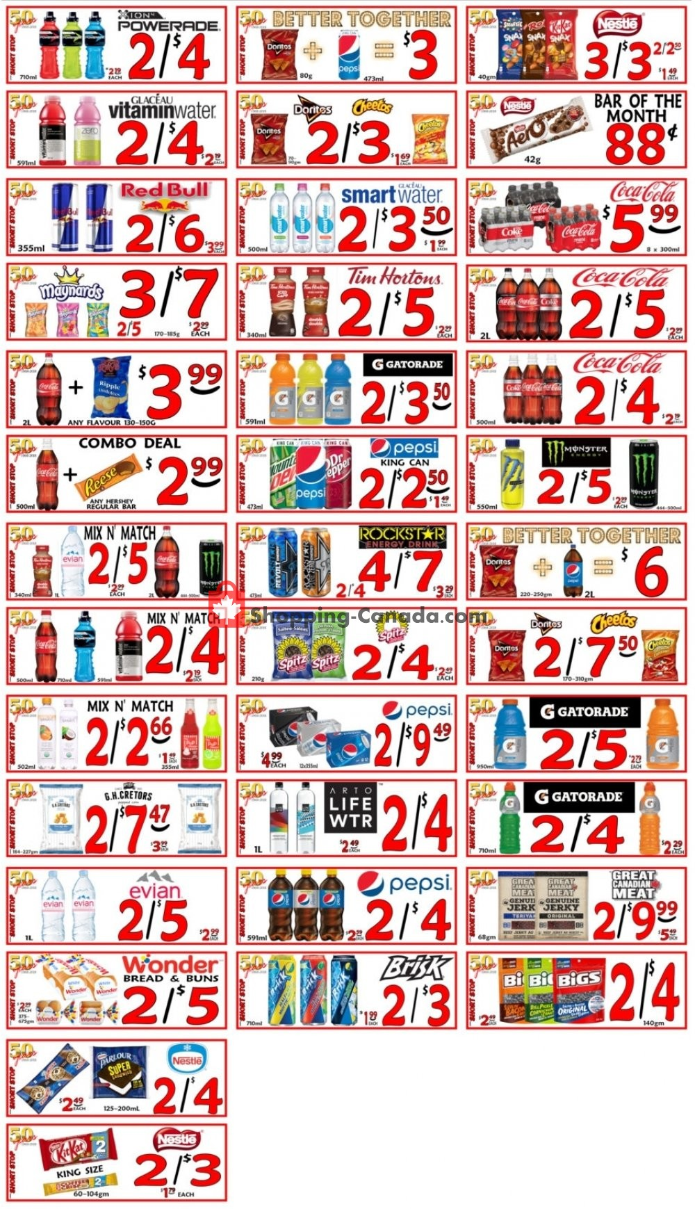 Flyer Little Short Stop Stores Canada - from Thursday June 20, 2019 to Wednesday June 26, 2019