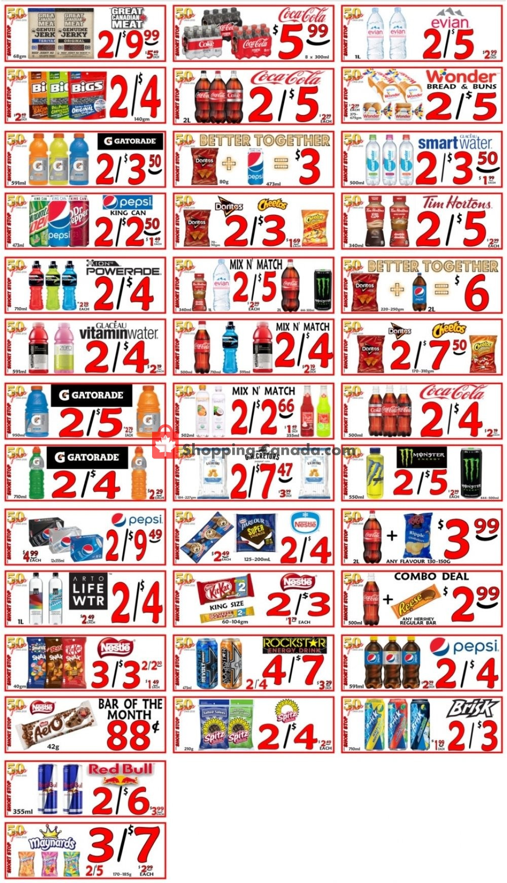 Flyer Little Short Stop Stores Canada - from Friday June 21, 2019 to Thursday June 27, 2019