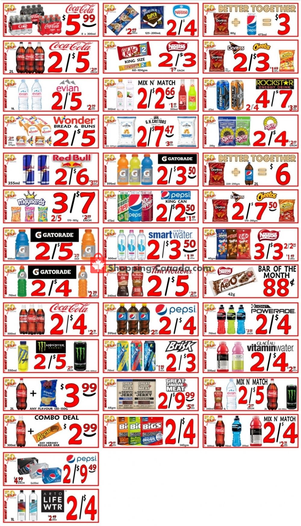 Flyer Little Short Stop Stores Canada - from Saturday June 22, 2019 to Friday June 28, 2019