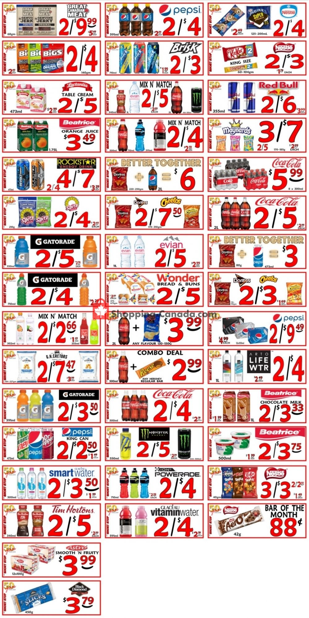 Flyer Little Short Stop Stores Canada - from Monday June 24, 2019 to Sunday June 30, 2019