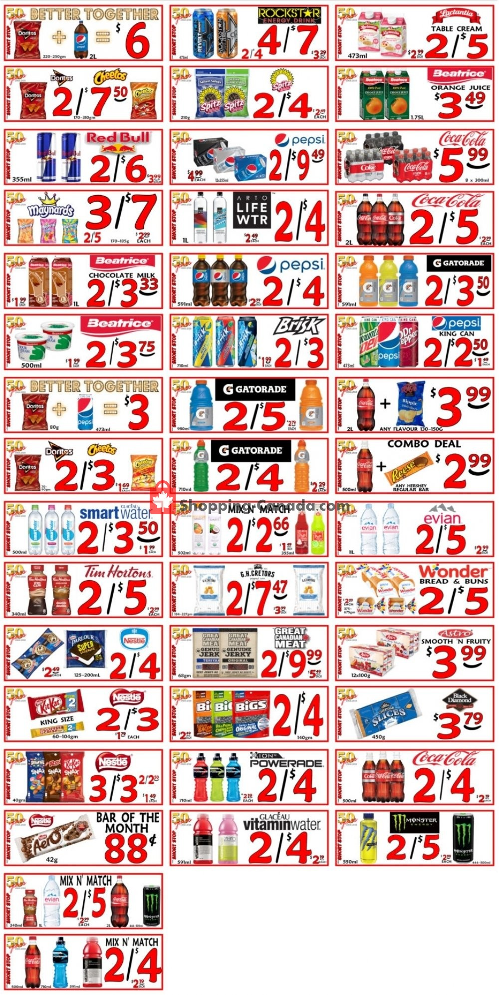 Flyer Little Short Stop Stores Canada - from Tuesday June 25, 2019 to Monday July 1, 2019