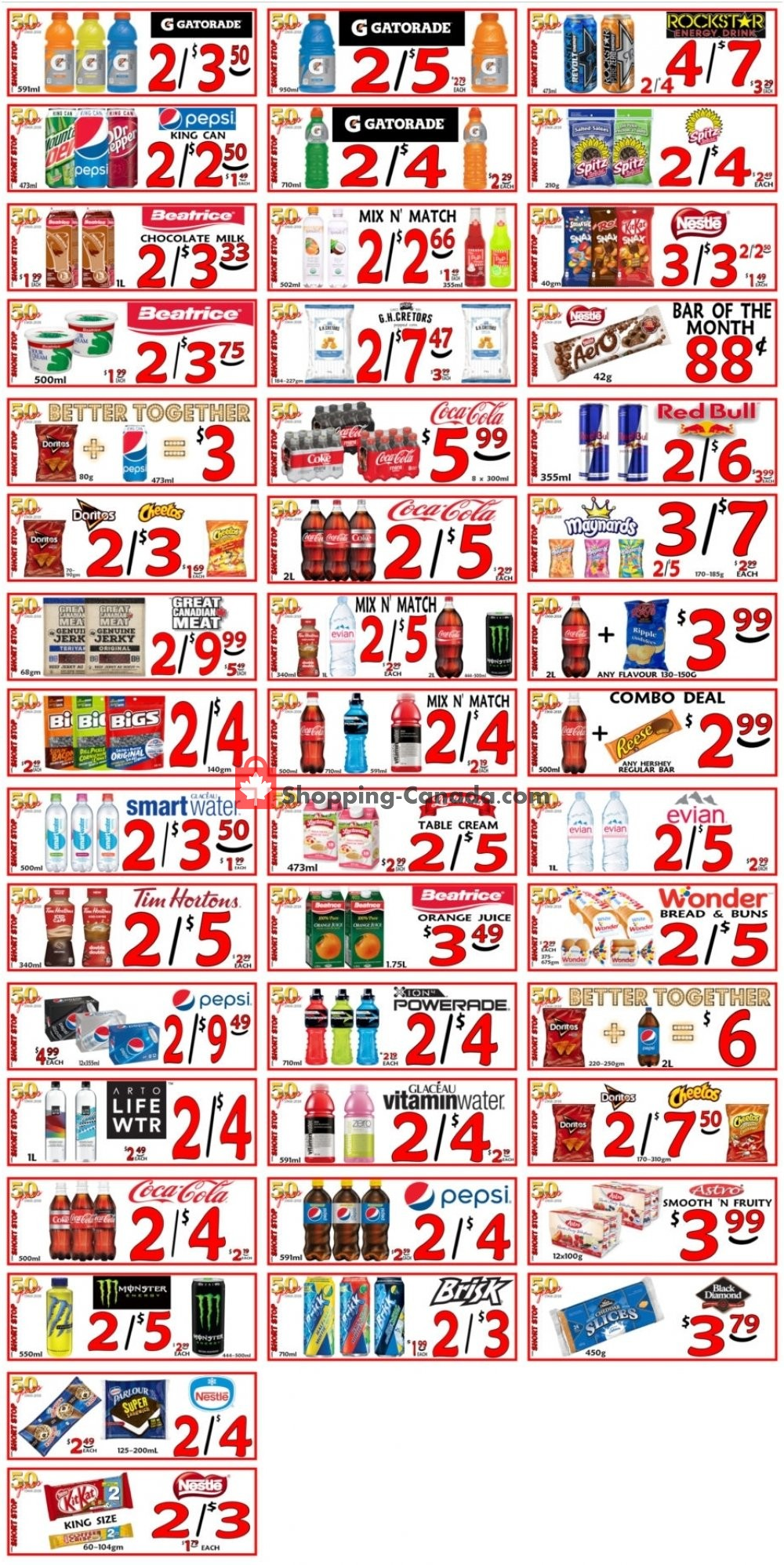 Flyer Little Short Stop Stores Canada - from Wednesday June 26, 2019 to Tuesday July 2, 2019
