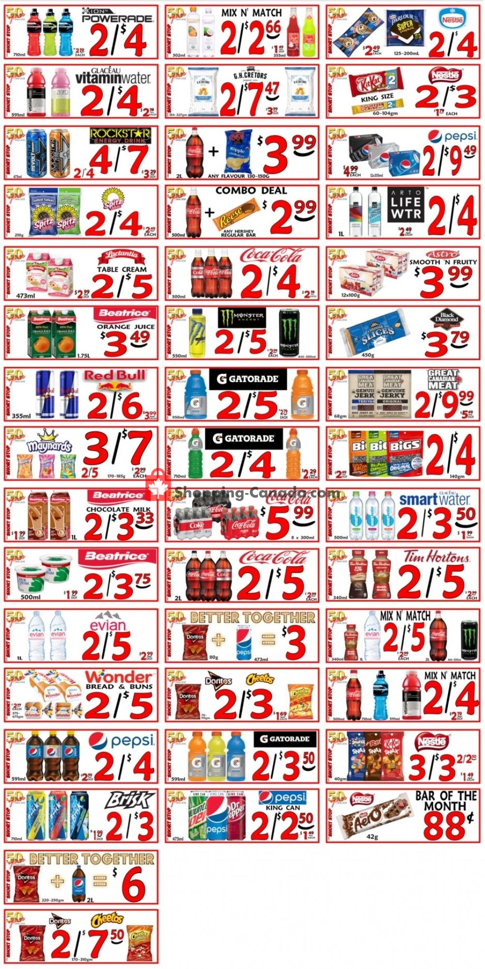 Flyer Little Short Stop Stores Canada - from Thursday June 27, 2019 to Wednesday July 3, 2019