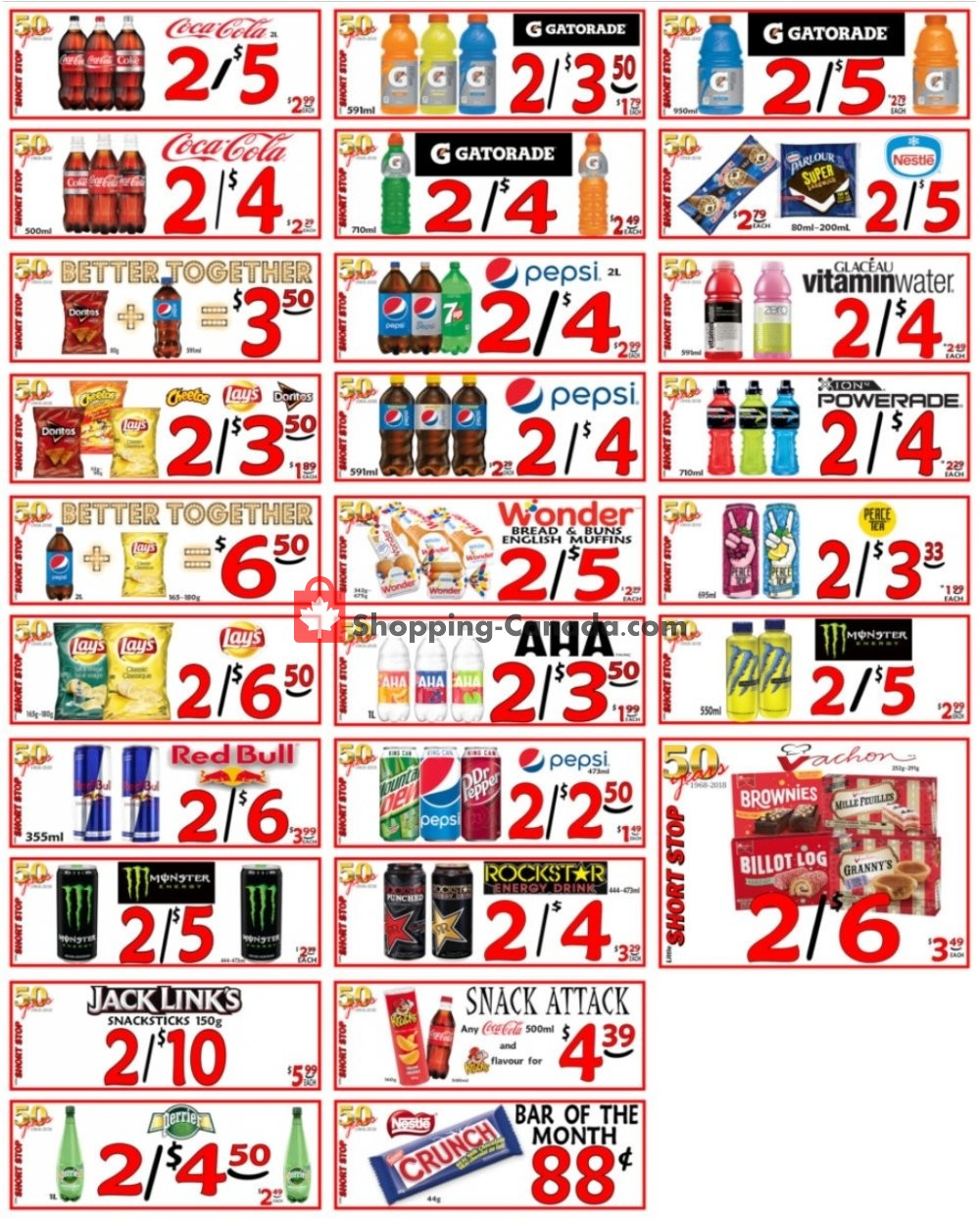 Flyer Little Short Stop Stores Canada - from Sunday June 28, 2020 to Saturday July 4, 2020