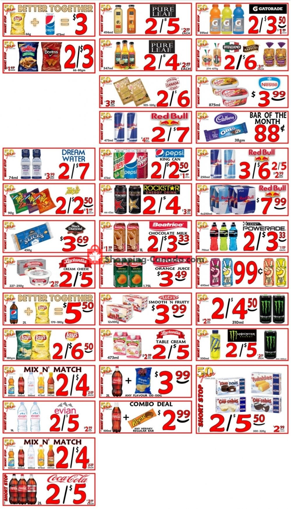 Flyer Little Short Stop Stores Canada - from Sunday March 10, 2019 to Saturday March 16, 2019