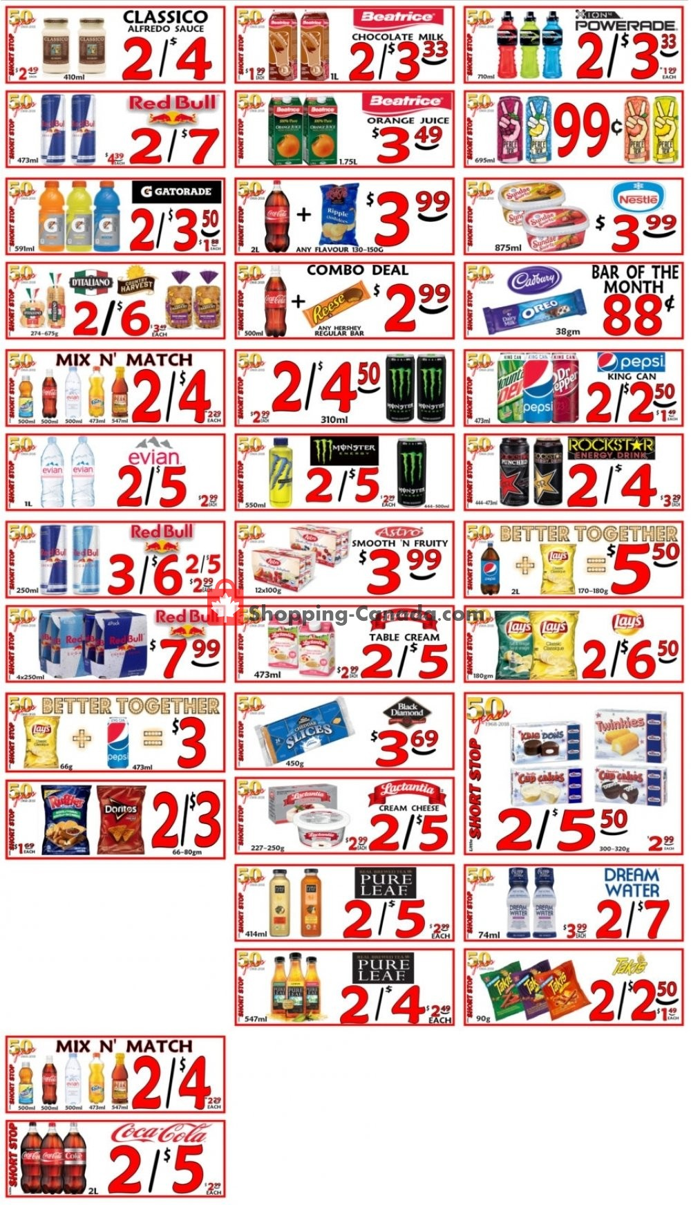 Flyer Little Short Stop Stores Canada - from Monday March 11, 2019 to Sunday March 17, 2019