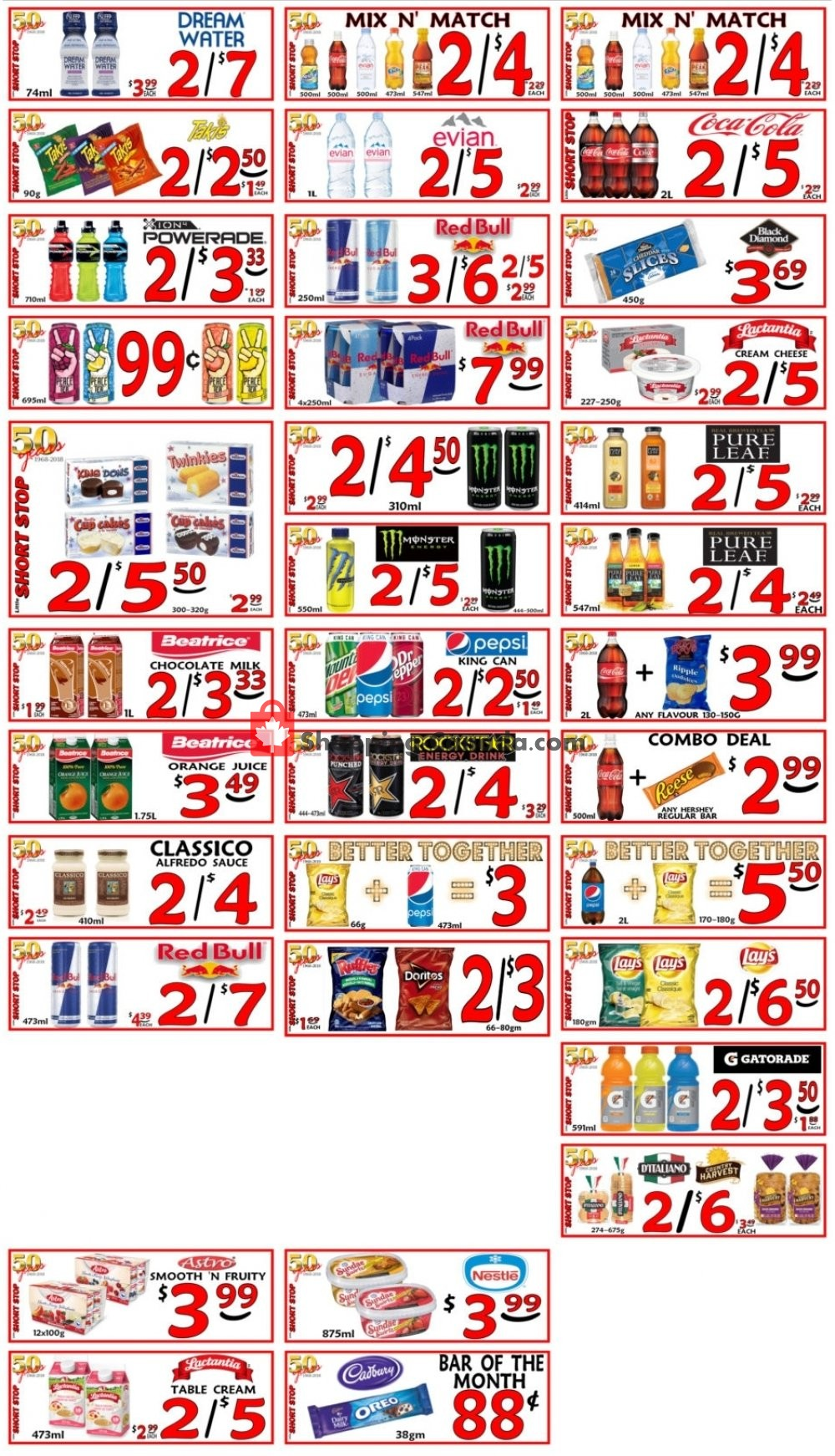 Flyer Little Short Stop Stores Canada - from Tuesday March 12, 2019 to Monday March 18, 2019