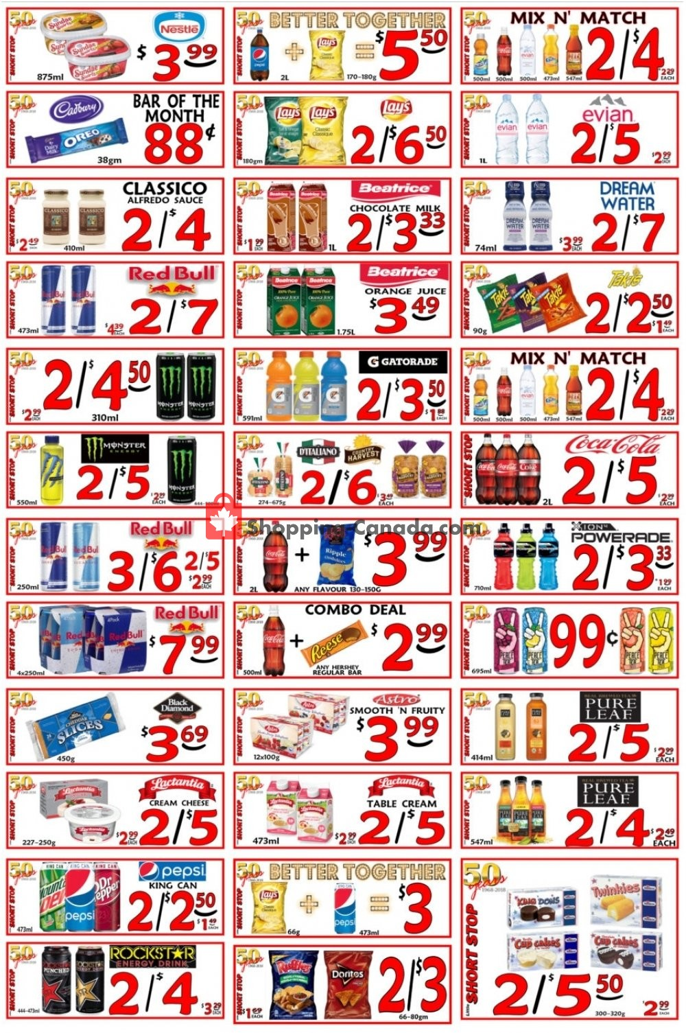 Flyer Little Short Stop Stores Canada - from Wednesday March 13, 2019 to Tuesday March 19, 2019