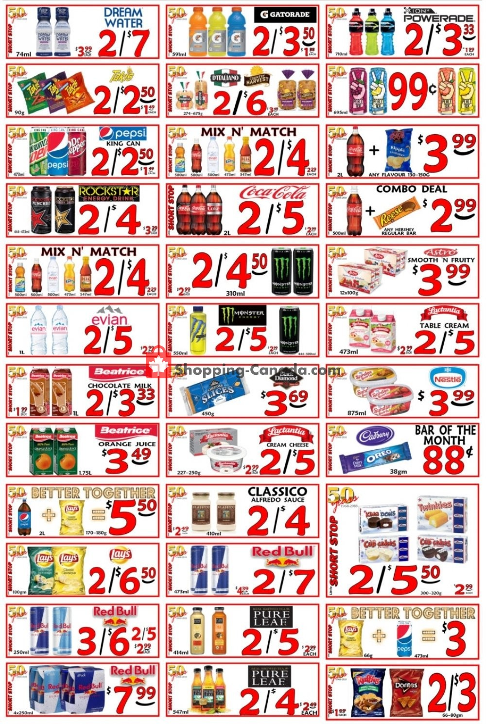 Flyer Little Short Stop Stores Canada - from Thursday March 14, 2019 to Wednesday March 20, 2019