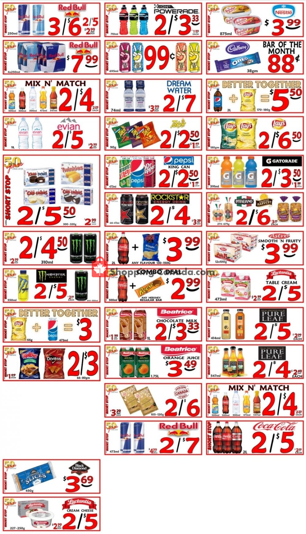 Flyer Little Short Stop Stores Canada - from Tuesday March 5, 2019 to Monday March 11, 2019