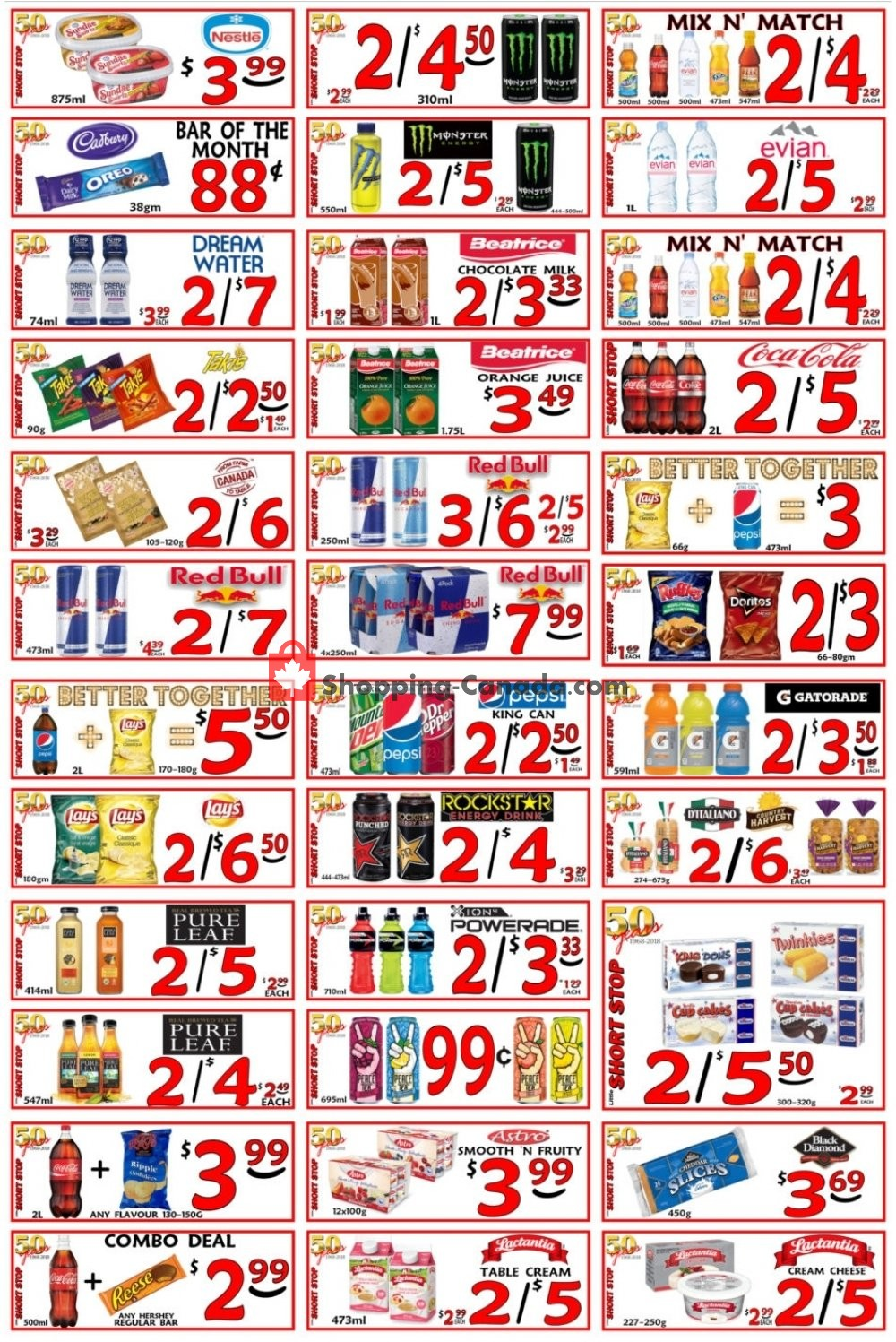 Flyer Little Short Stop Stores Canada - from Thursday March 7, 2019 to Wednesday March 13, 2019