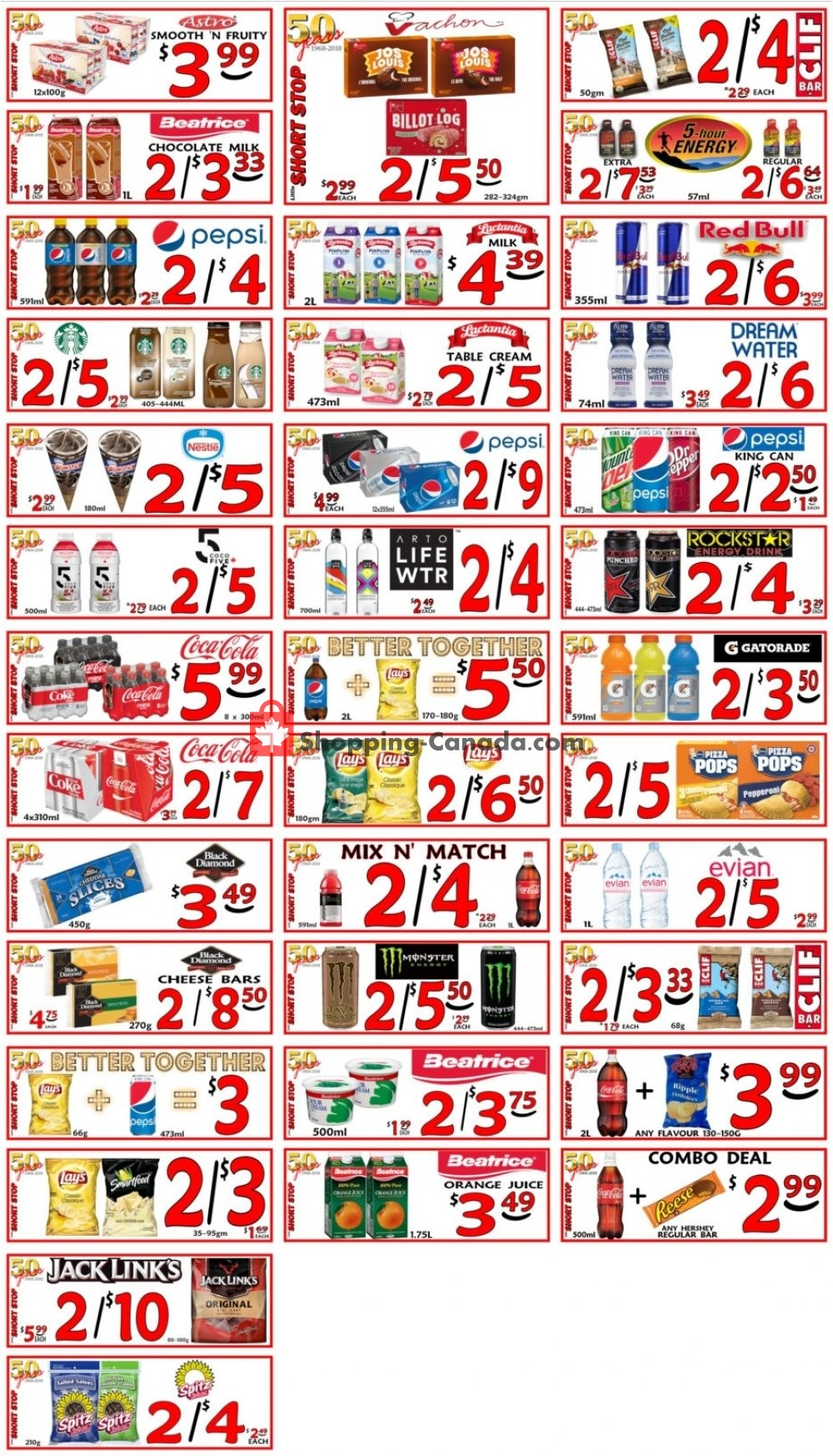 Flyer Little Short Stop Stores Canada - from Thursday May 2, 2019 to Wednesday May 8, 2019