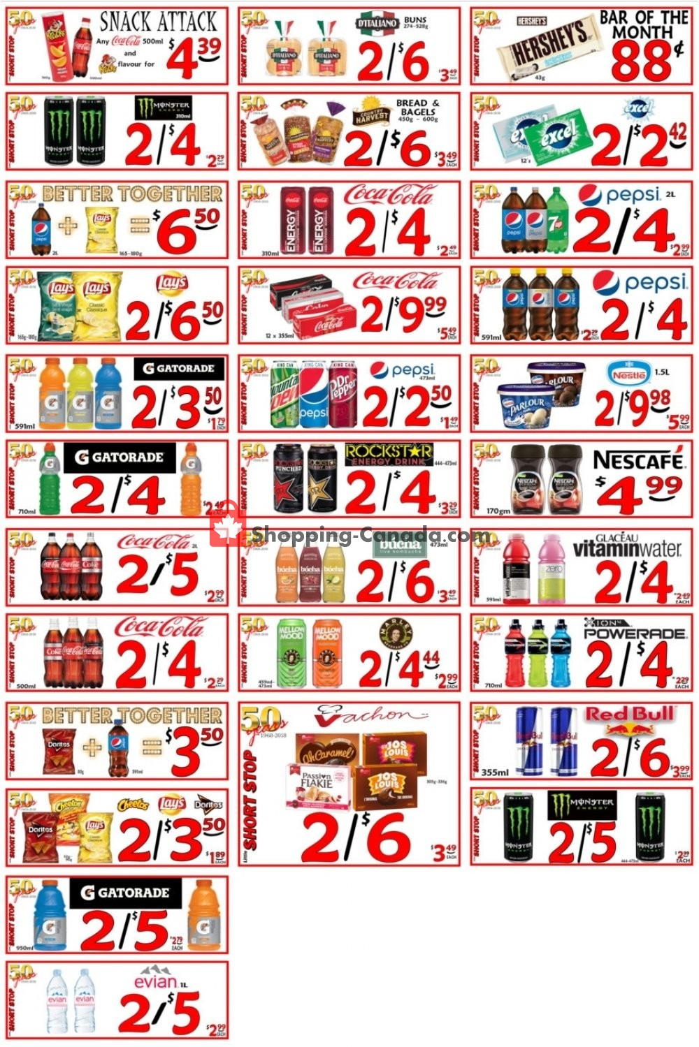 Flyer Little Short Stop Stores Canada - from Tuesday May 26, 2020 to Monday June 1, 2020