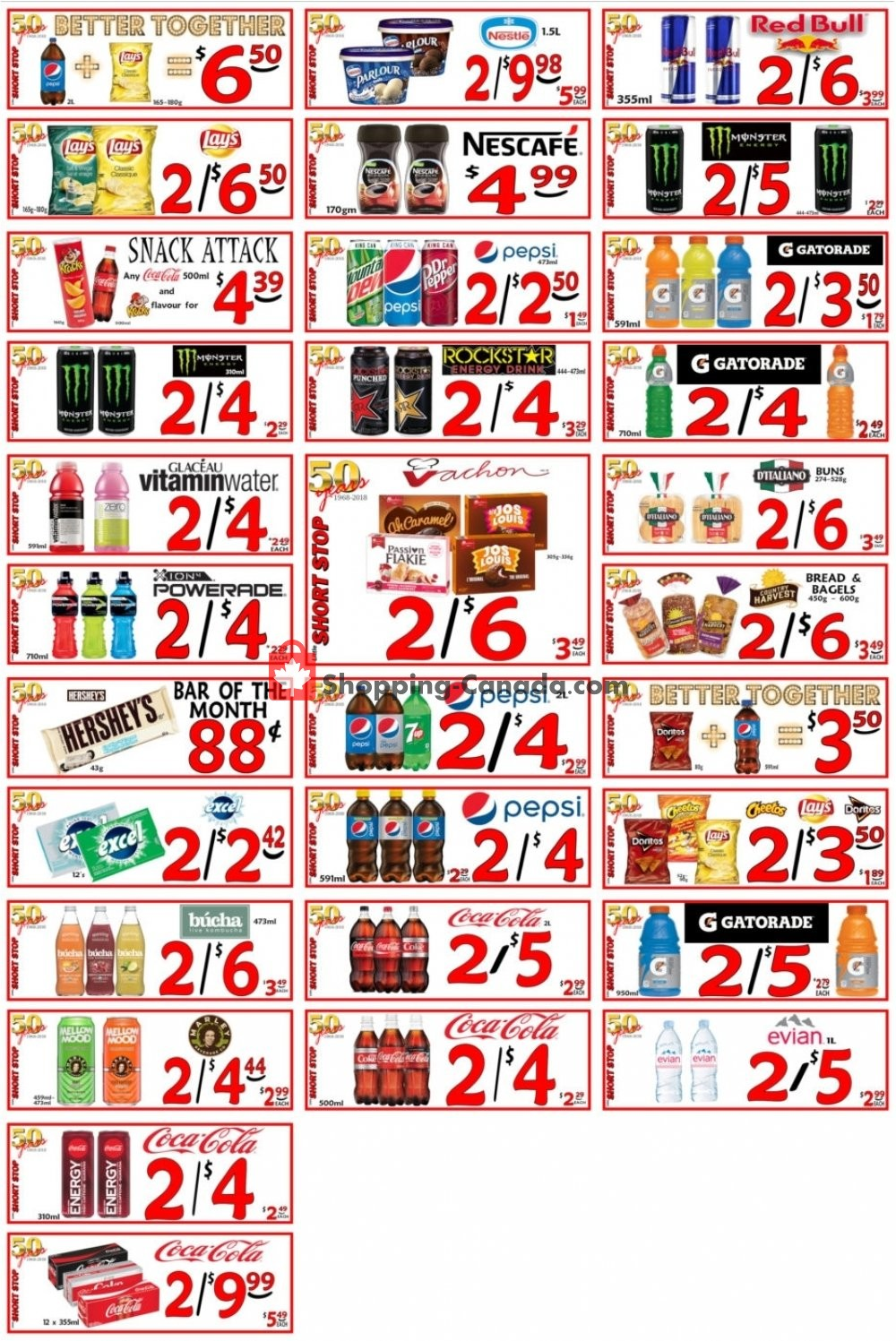 Flyer Little Short Stop Stores Canada - from Friday May 29, 2020 to Thursday June 4, 2020