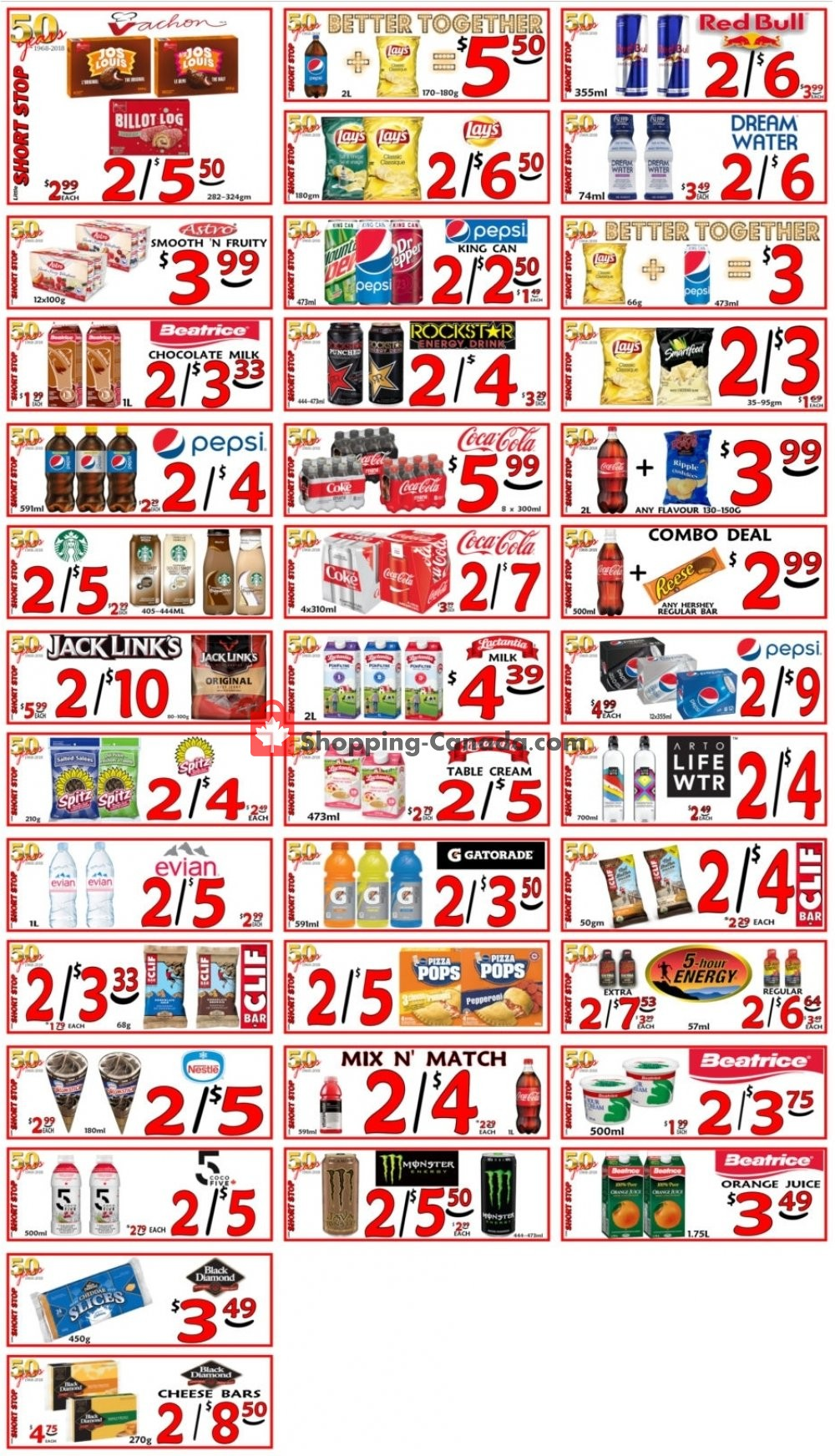 Flyer Little Short Stop Stores Canada - from Friday May 3, 2019 to Thursday May 9, 2019