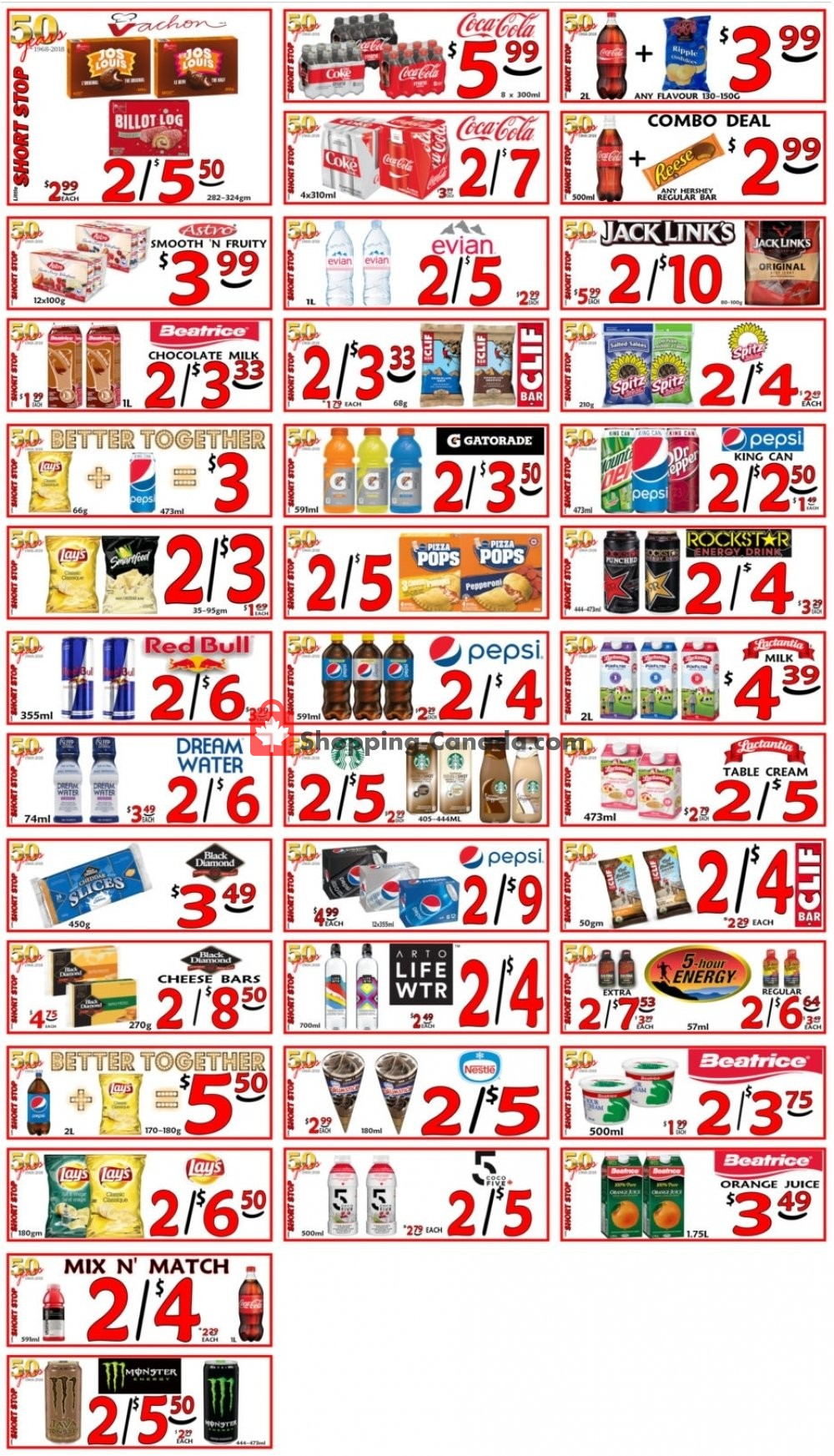 Flyer Little Short Stop Stores Canada - from Saturday May 4, 2019 to Friday May 10, 2019
