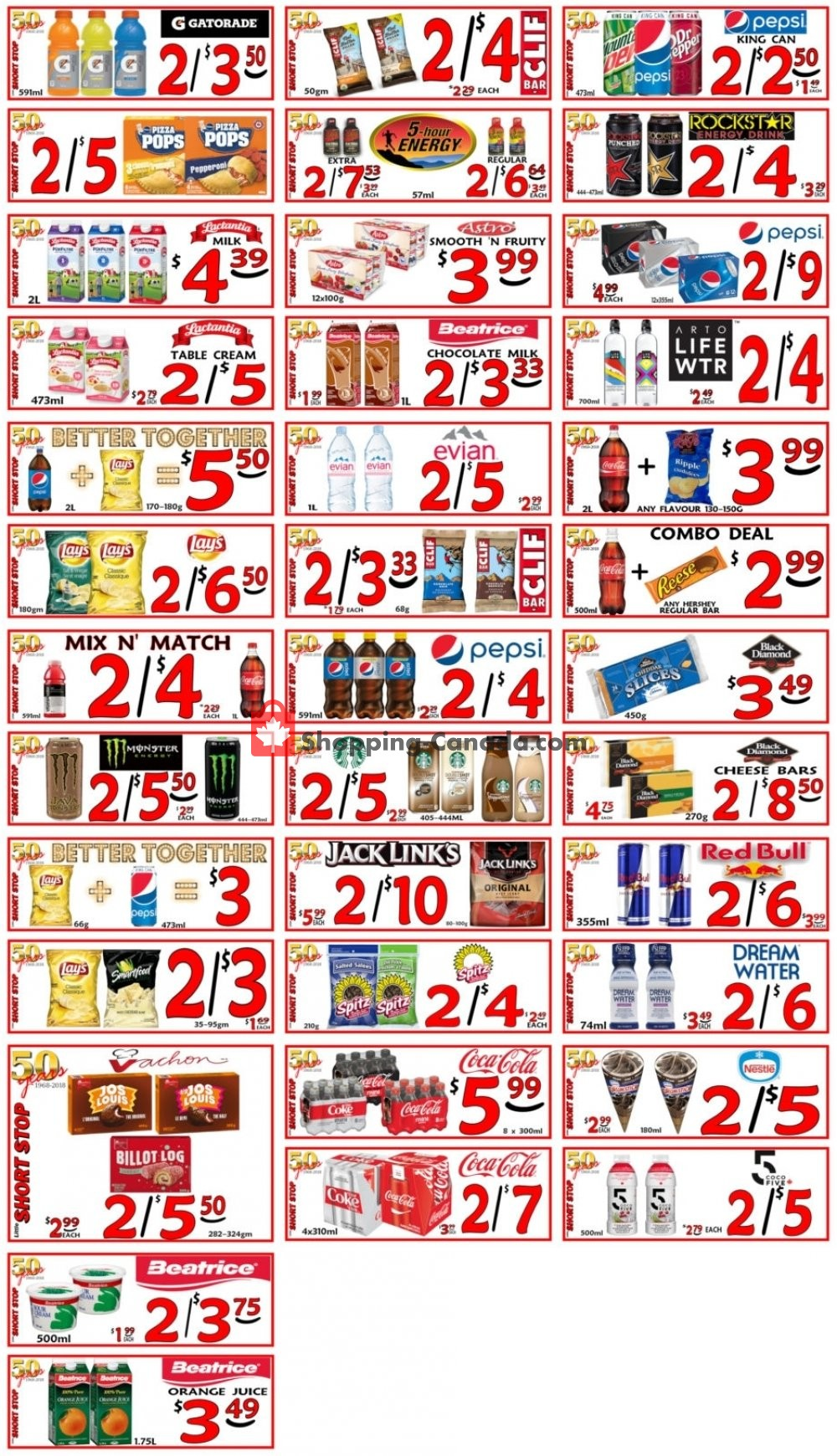 Flyer Little Short Stop Stores Canada - from Sunday May 5, 2019 to Saturday May 11, 2019