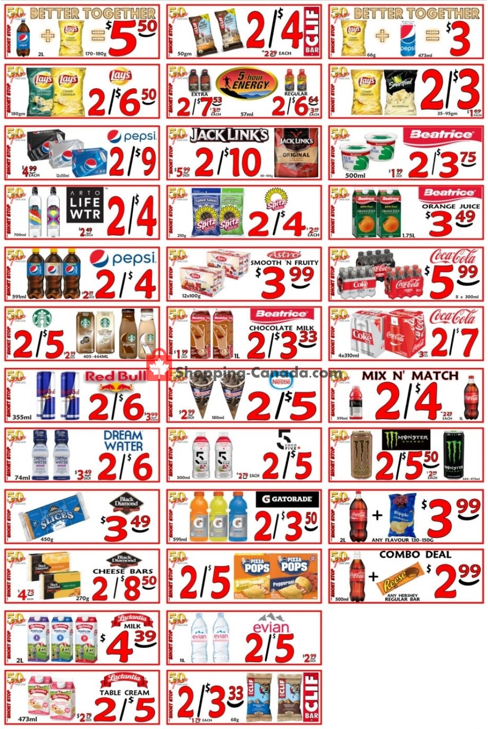 Flyer Little Short Stop Stores Canada - from Monday May 6, 2019 to Sunday May 12, 2019