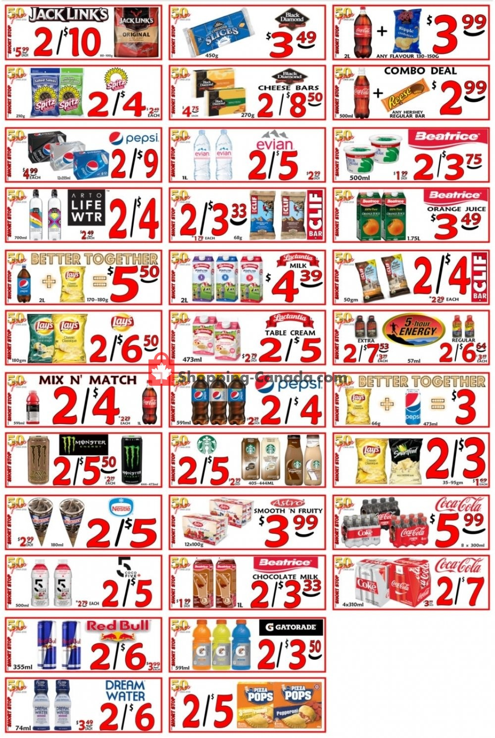 Flyer Little Short Stop Stores Canada - from Tuesday May 7, 2019 to Monday May 13, 2019