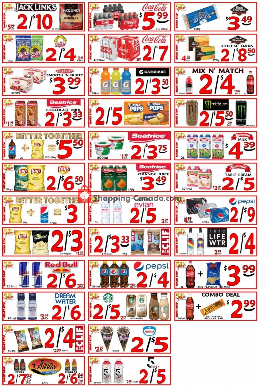 Flyer Little Short Stop Stores Canada - from Wednesday May 8, 2019 to Tuesday May 14, 2019