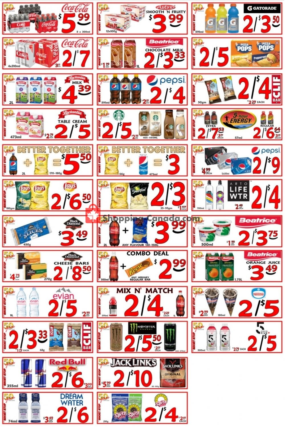 Flyer Little Short Stop Stores Canada - from Thursday May 9, 2019 to Wednesday May 15, 2019
