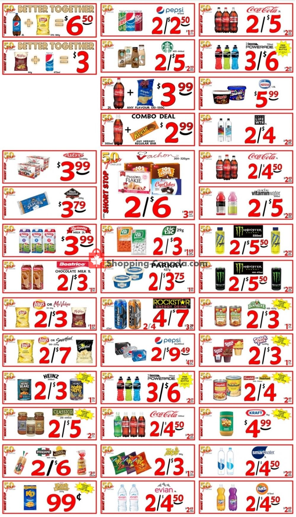 Flyer Little Short Stop Stores Canada - from Thursday November 7, 2019 to Wednesday November 13, 2019